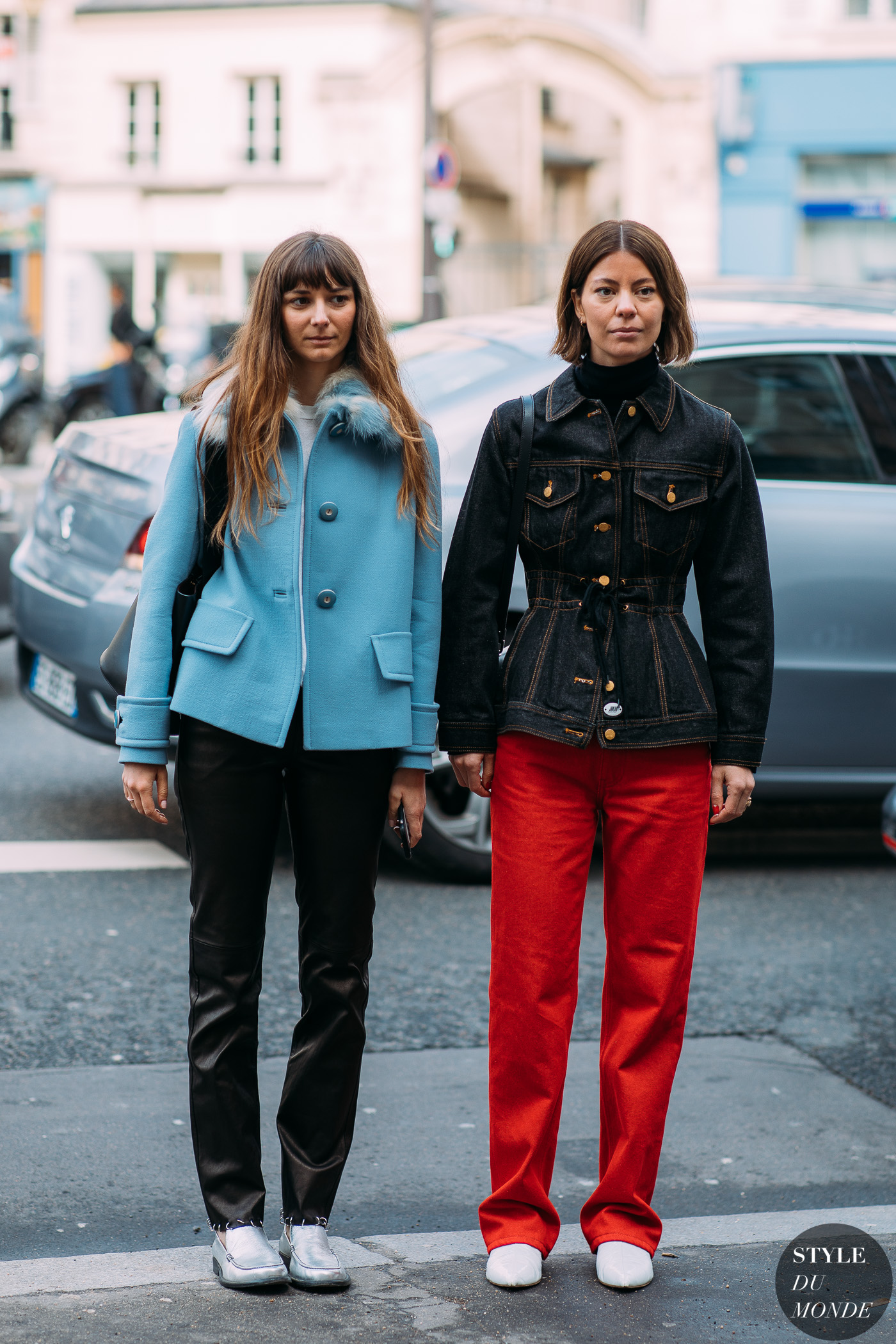 Brie Welch and Annina Mislin by STYLEDUMONDE Street Style Fashion Photography FW18 20180305_48A6856