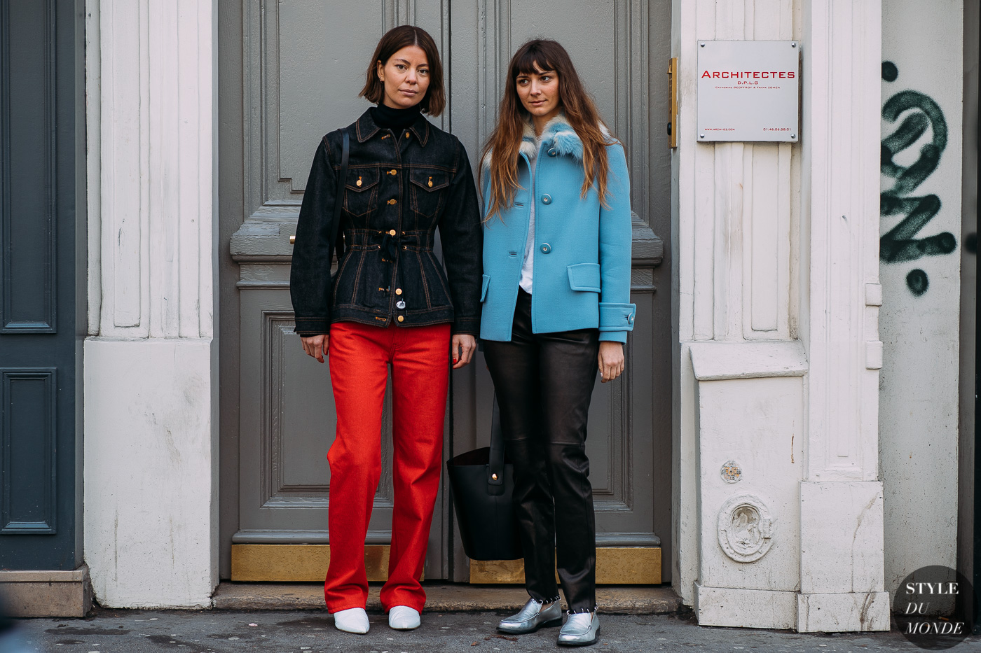 Brie Welch and Annina Mislin by STYLEDUMONDE Street Style Fashion Photography FW18 20180305_48A6873