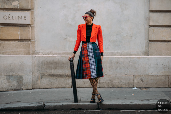 Giovanna Battaglia by STYLEDUMONDE Street Style Fashion Photography FW18 20180306_48A0532