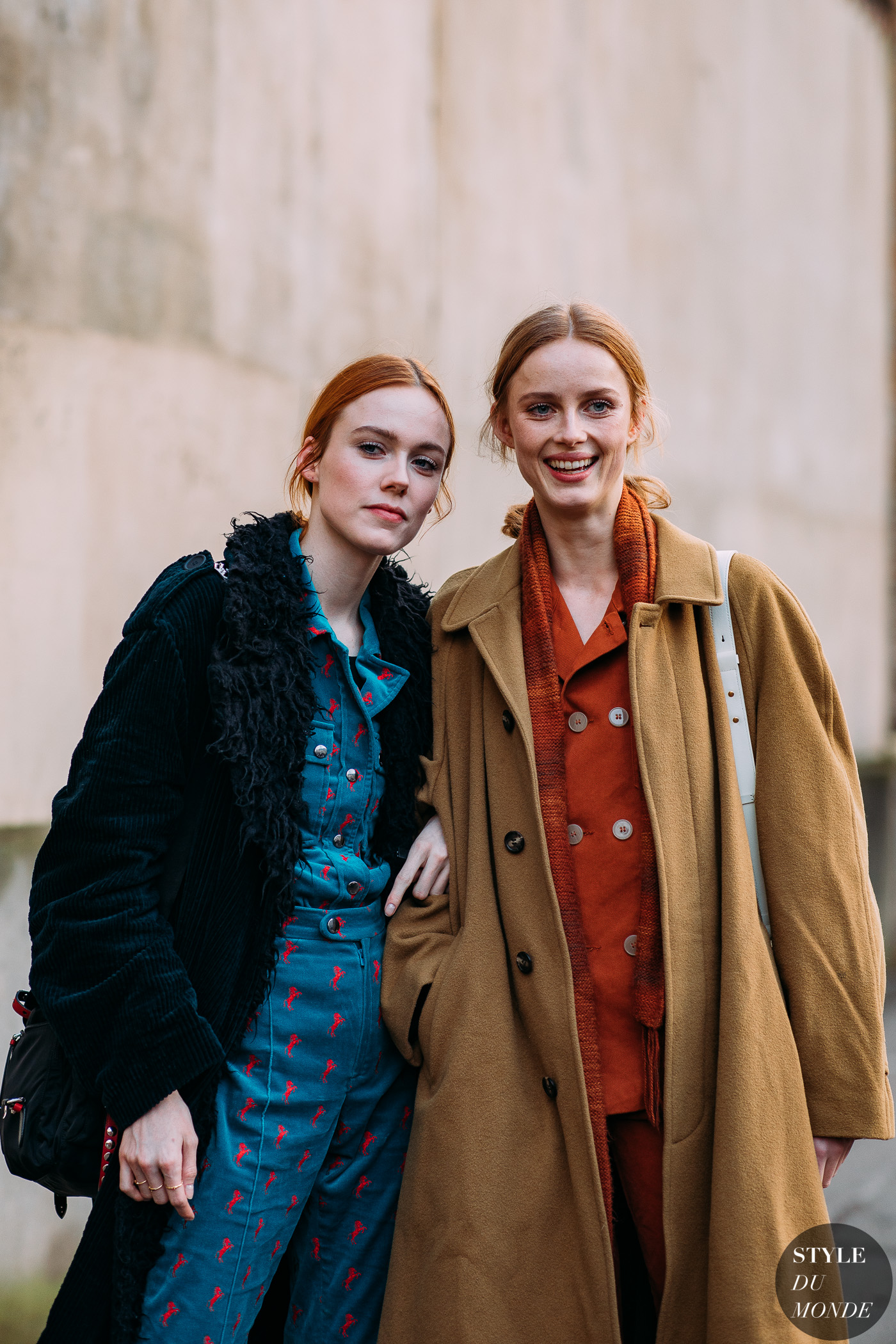 Kiki Willems and Rianne Van Rompaey by STYLEDUMONDE Street Style Fashion Photography FW18 20180304_48A4430