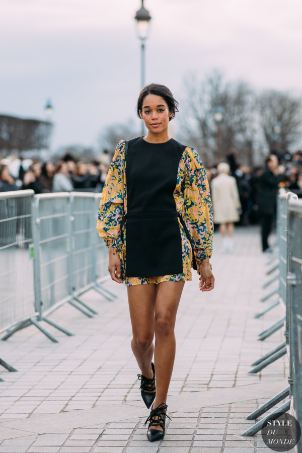 Laura Harrier by STYLEDUMONDE Street Style Fashion Photography FW18 20180306_48A2204