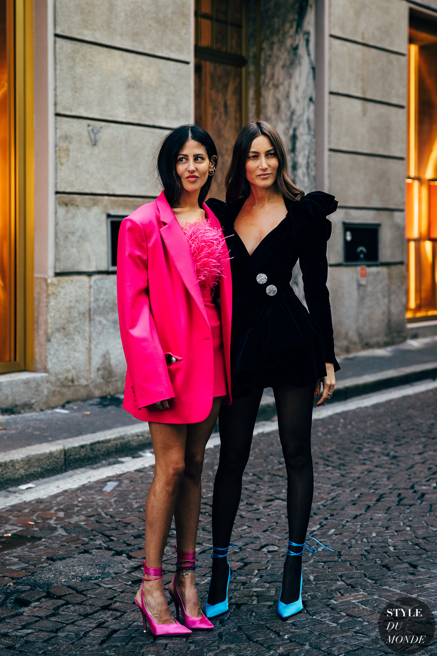 Gilda Ambrosio and Giorgia Tordini by STYLEDUMONDE Street Style Fashion Photography20190221_48A4308