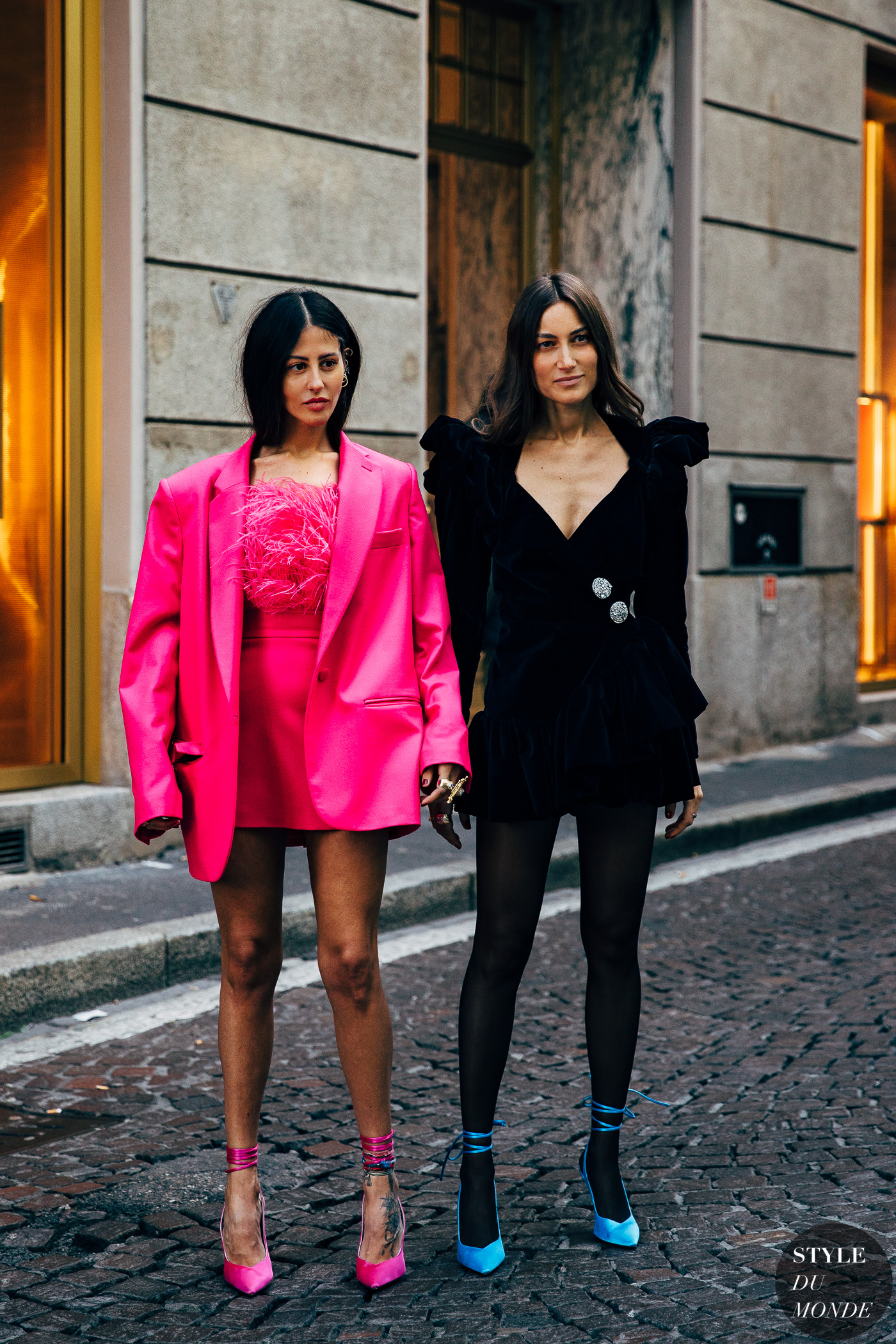 Gilda Ambrosio and Giorgia Tordini by STYLEDUMONDE Street Style Fashion Photography20190221_48A4318