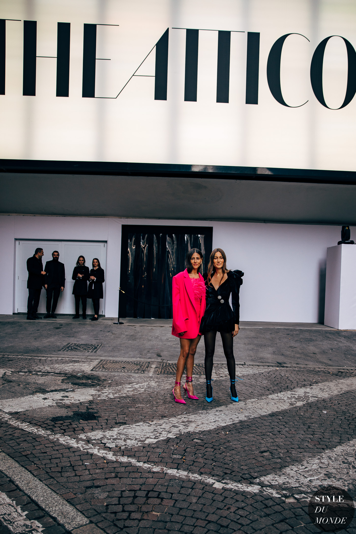 Gilda Ambrosio and Giorgia Tordini by STYLEDUMONDE Street Style Fashion Photography20190221_48A4399