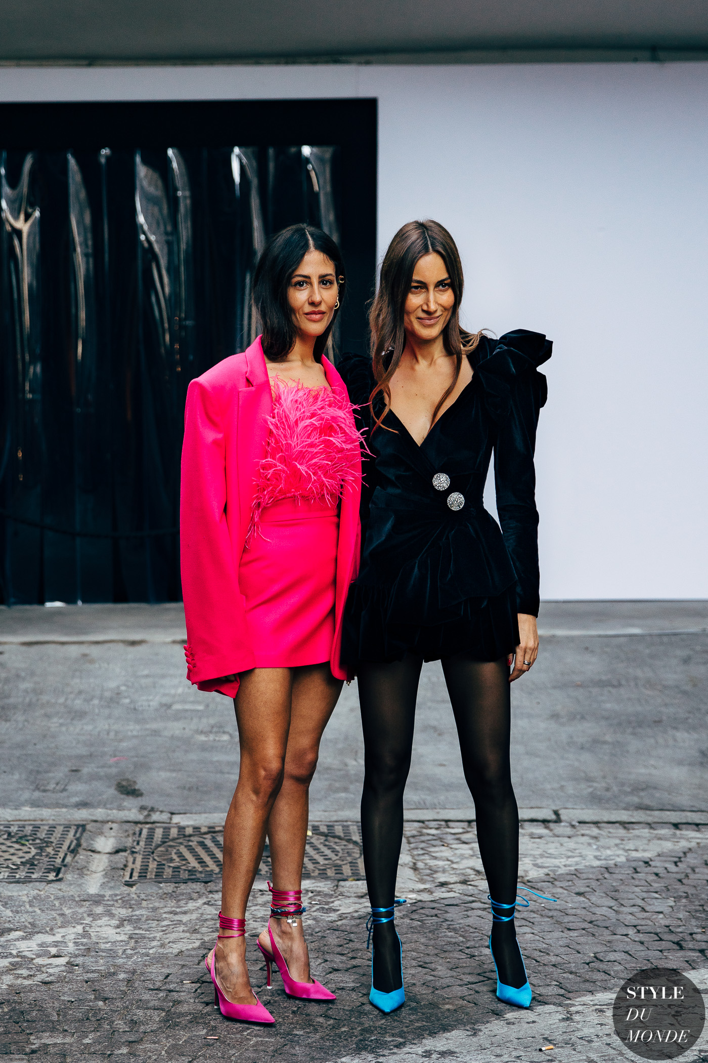 Gilda Ambrosio and Giorgia Tordini by STYLEDUMONDE Street Style Fashion Photography20190221_48A4413