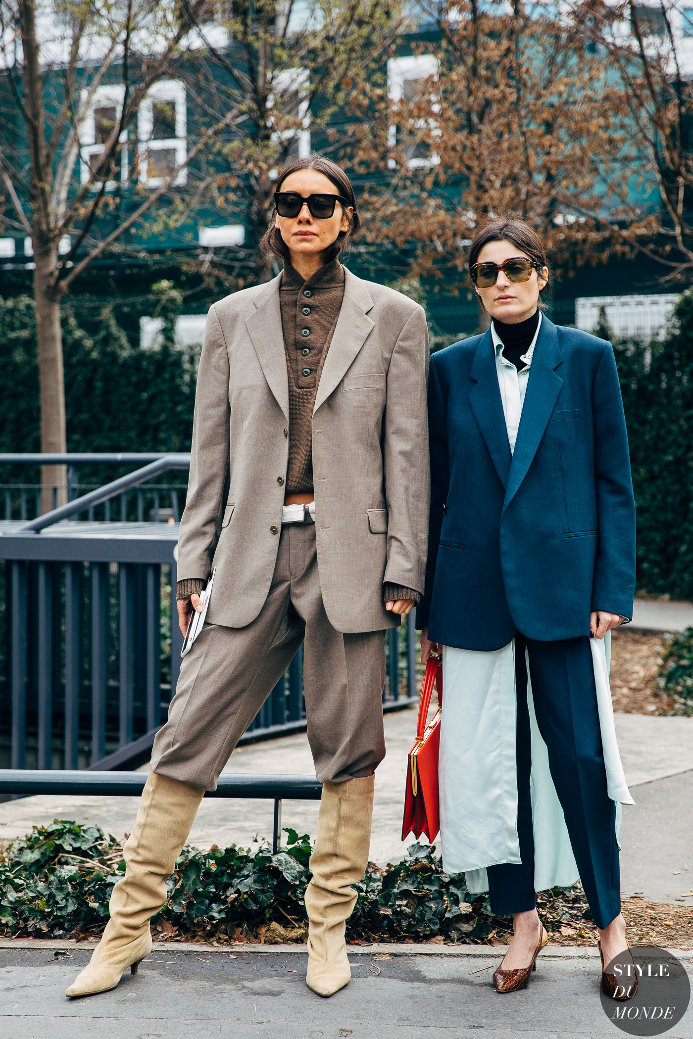 Julie Pelipas and Irina Linovich by STYLEDUMONDE Street Style Fashion Photography20190228_48A3300