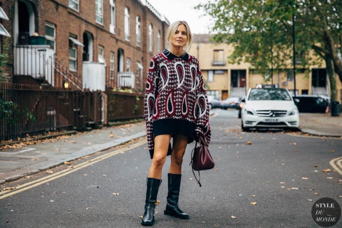 London SS 2020 Street Style: Lucy Williams