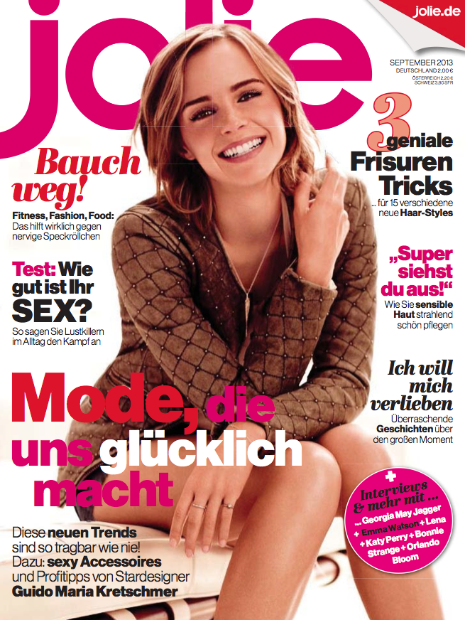 StyleDuMonde on Jolie Magazine Germany September 29 Cover ...