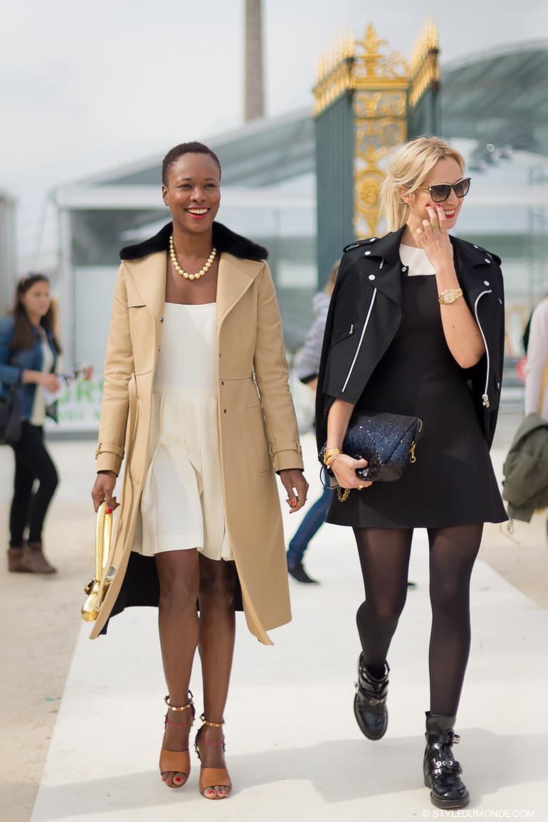 Paris FW SS2014: Shala Monroque   Street style chic, Cool