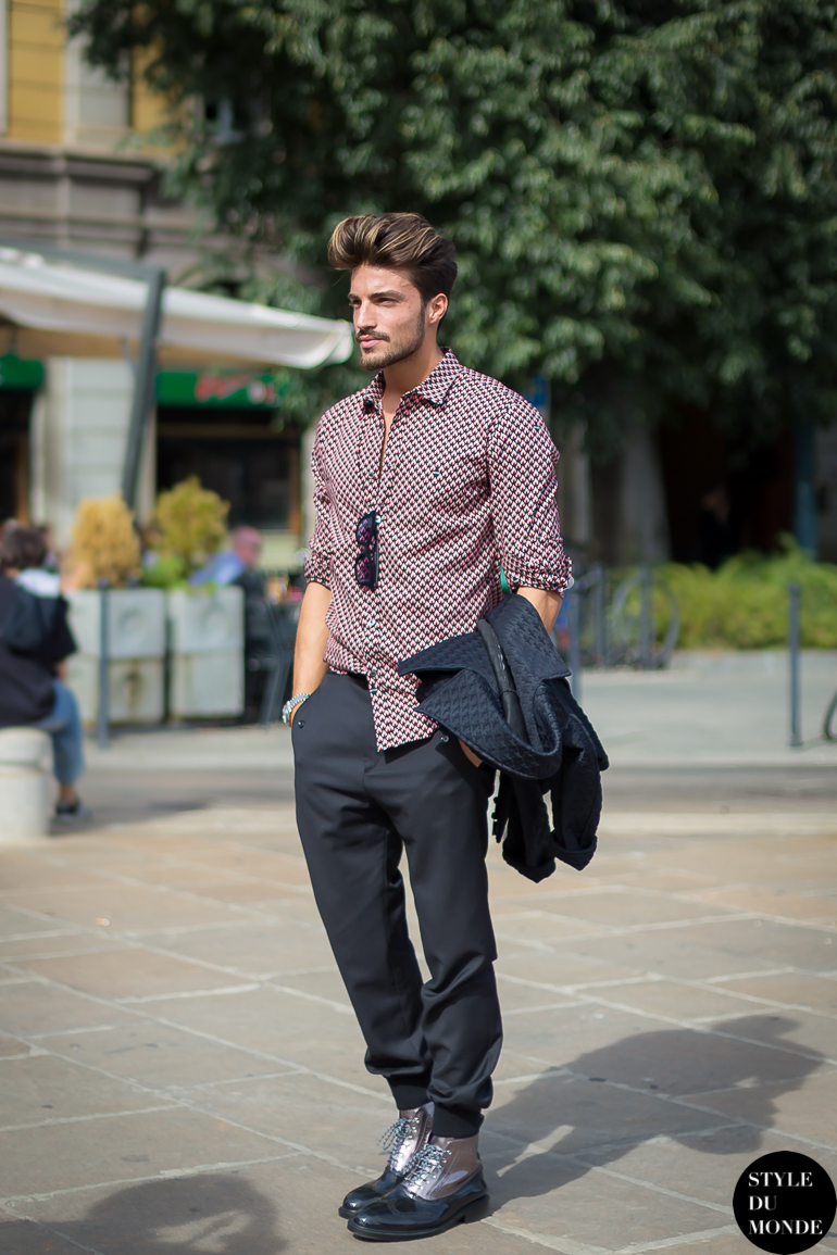 Italian Fashion Men Jeans