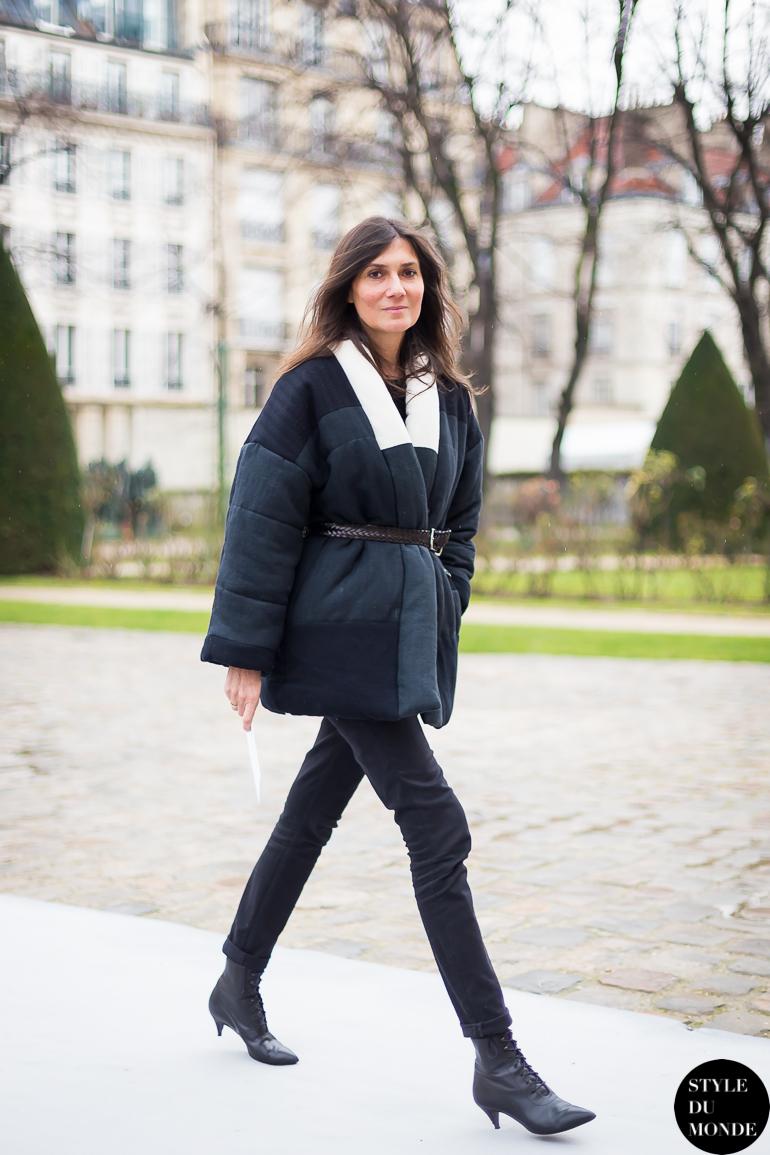 Haute Couture Ss 2014 Street Style Emmanuelle Alt Style