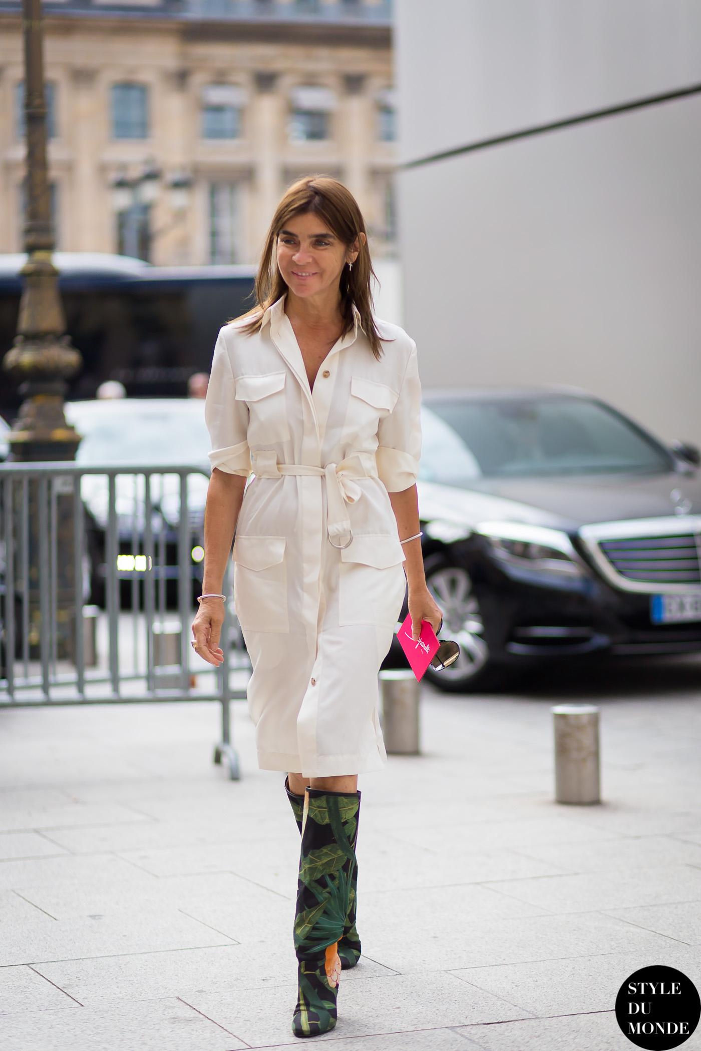 Carine Roitfeld Style Du Monde Street Style Street