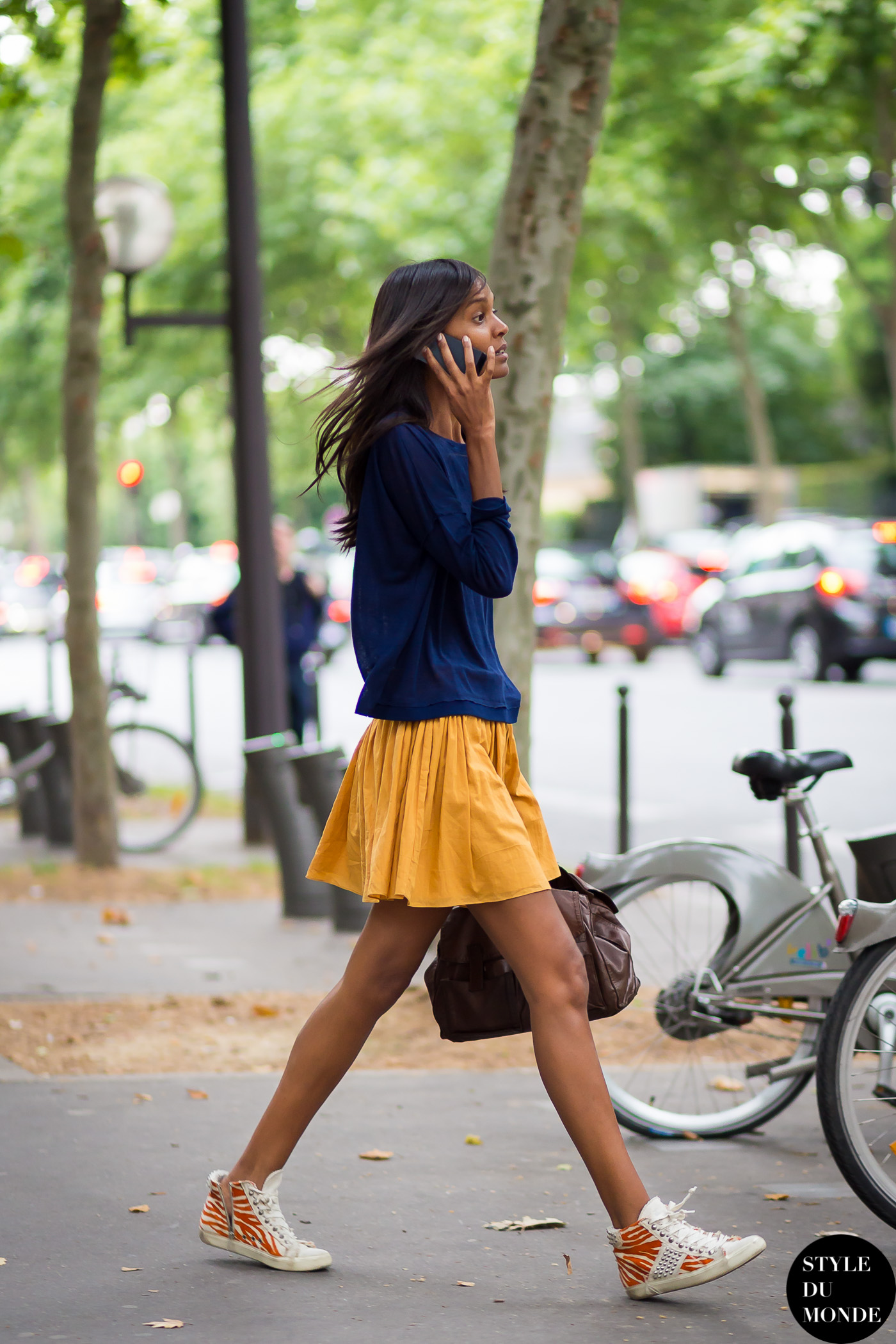 Haute Couture Fall 2014 Street Style Liya Kebede Style