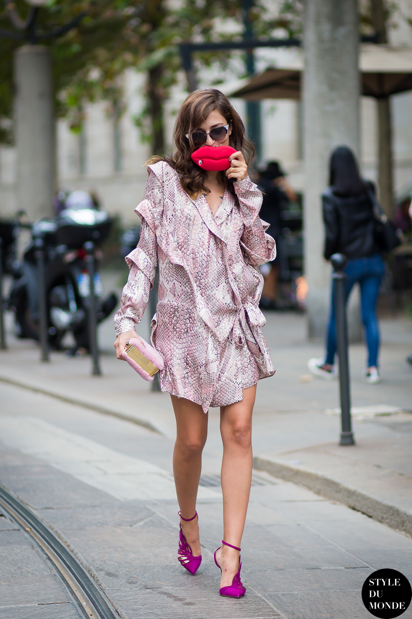 1af5168113 Eleonora Carisi Street Style Street Fashion Streetsnaps by STYLEDUMONDE Street  Style Fashion Blog