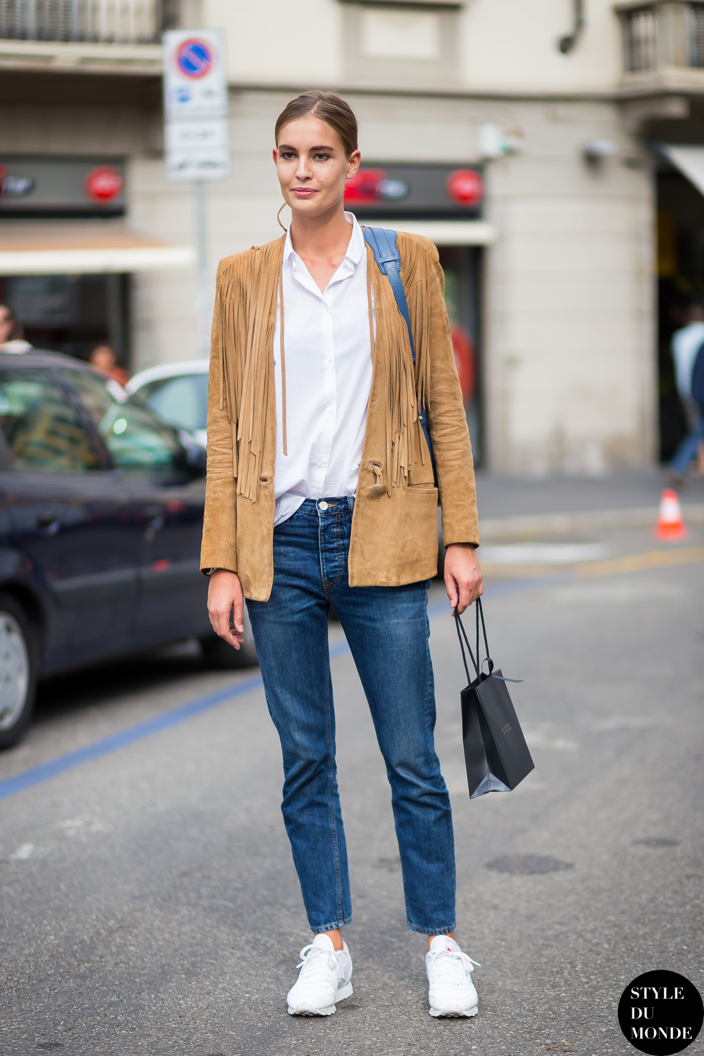 4b15955276b Nadja Bender Street Style Street Fashion Streetsnaps by STYLEDUMONDE Street  Style Fashion Blog