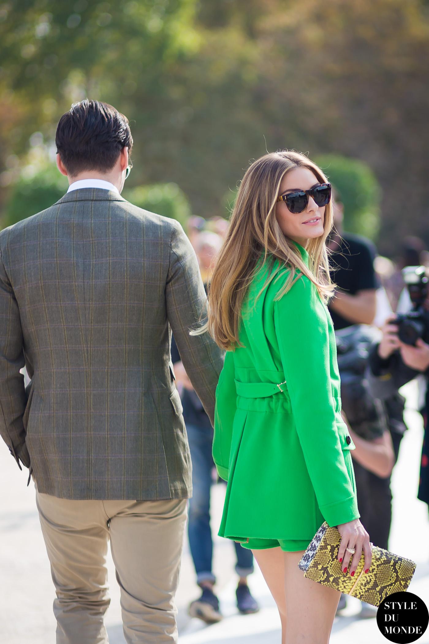 Paris FW SS15 Street Style: Olivia Palermo - STYLE DU ...