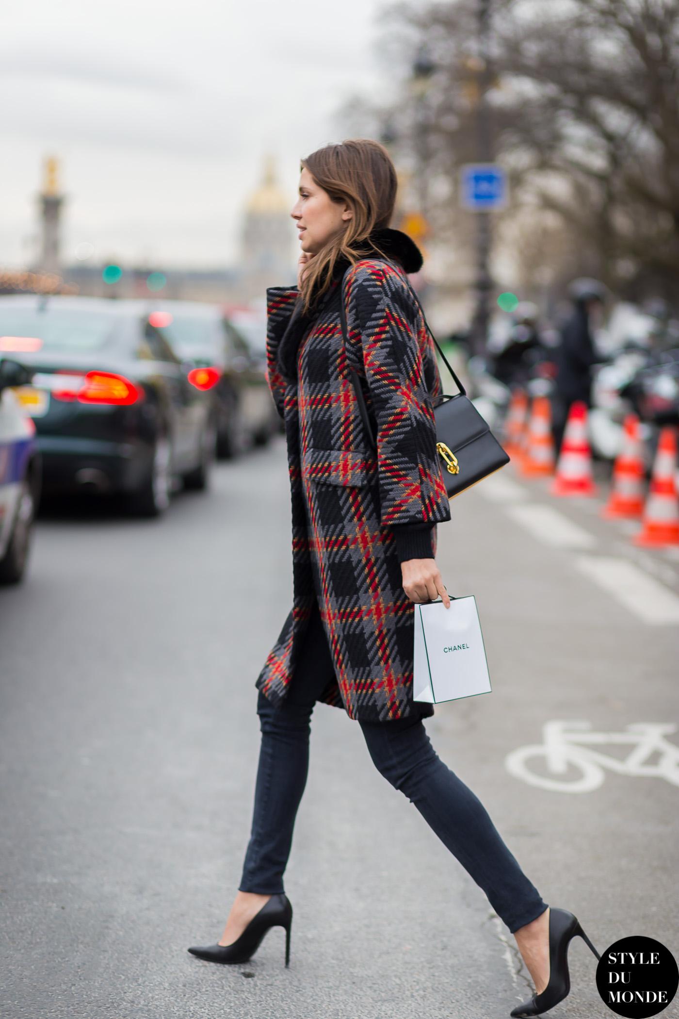 Blackfashion Blog Facebook Puksies Wardrobe Tumblr: Haute Couture SS 2015 Street Style: Dasha Zhukova