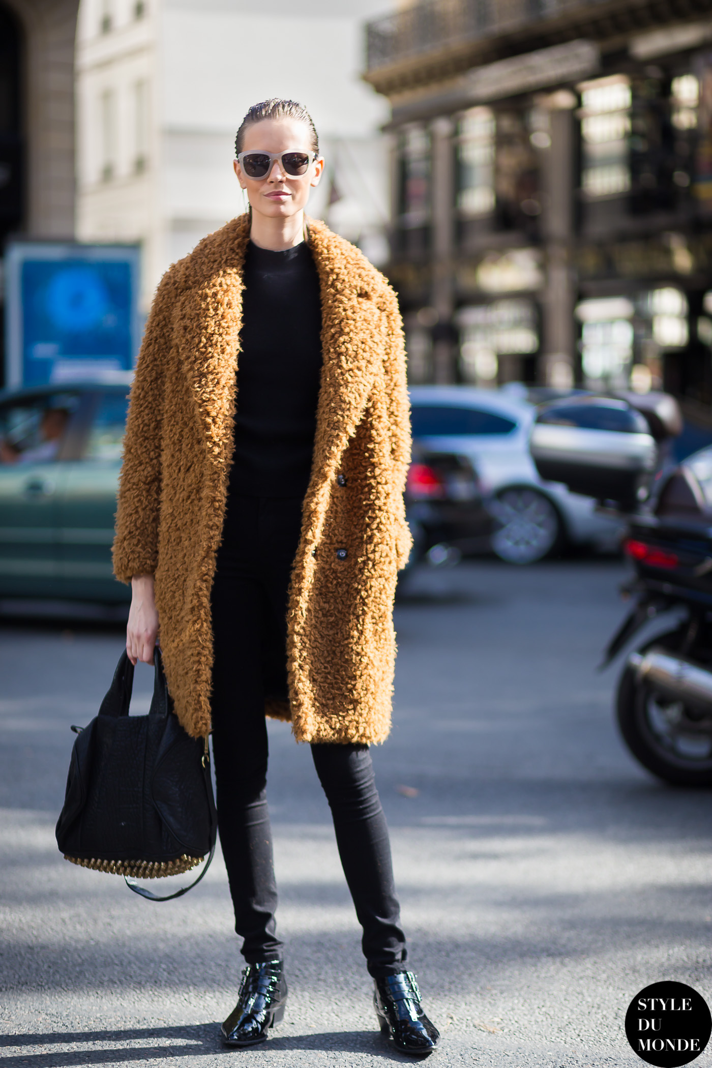 Paris Fashion Week Fw 2014 Street Style Mina Cvetkovic