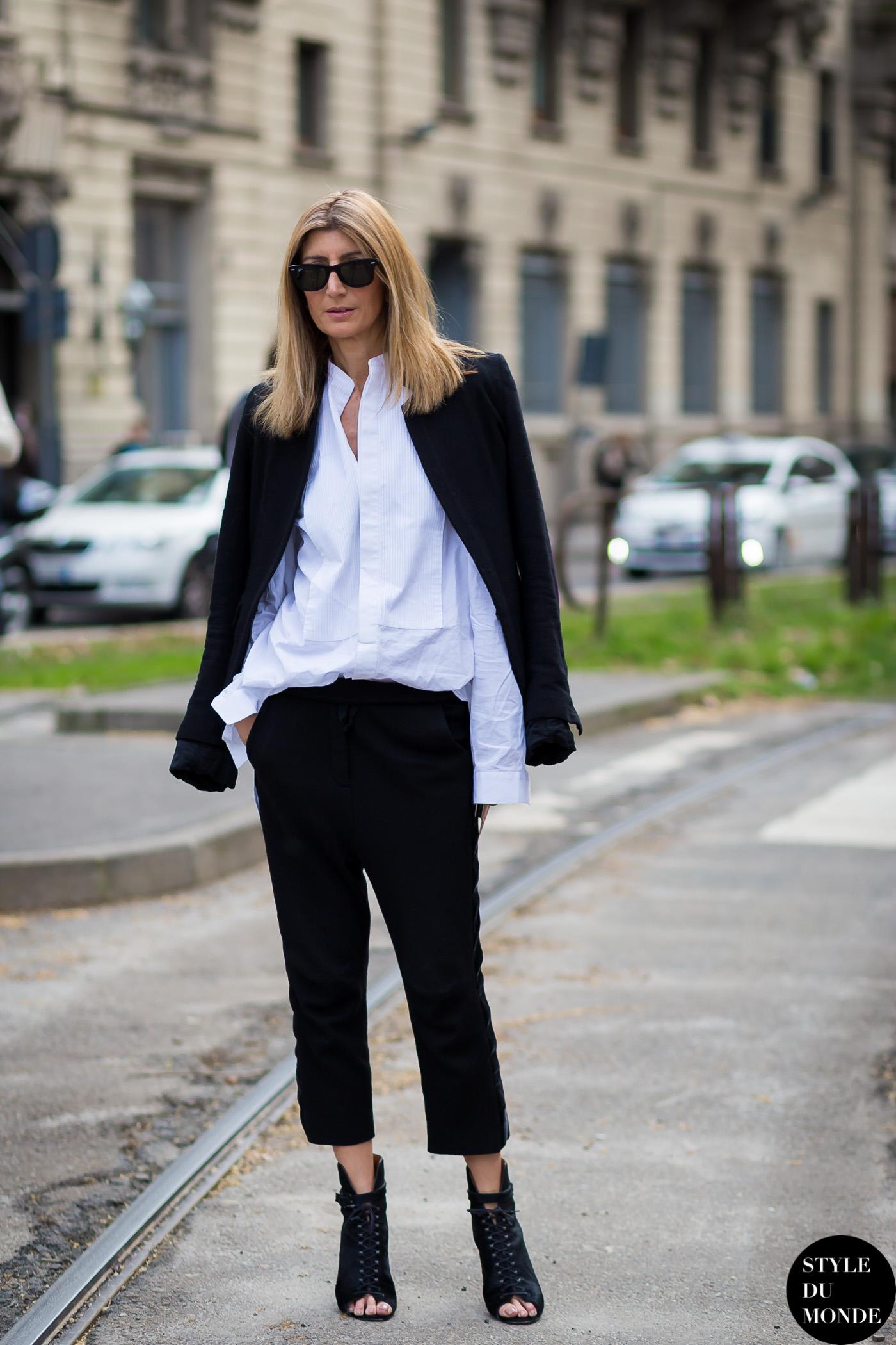 Milan Fashion Week FW 2015 Street Style: Sarah Rutson ...