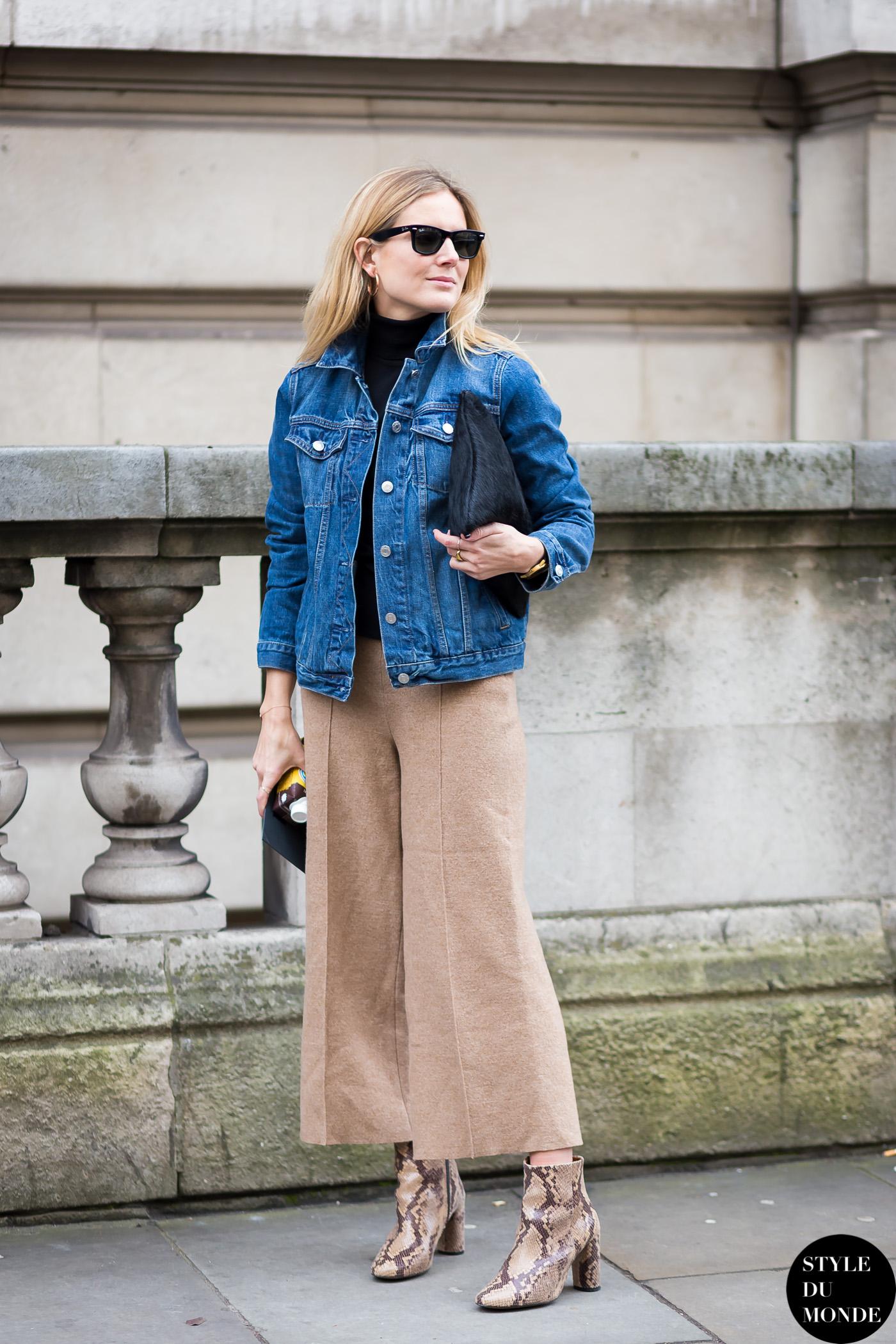 London Fashion Week FW 2015 Street Style: Lucy Williams