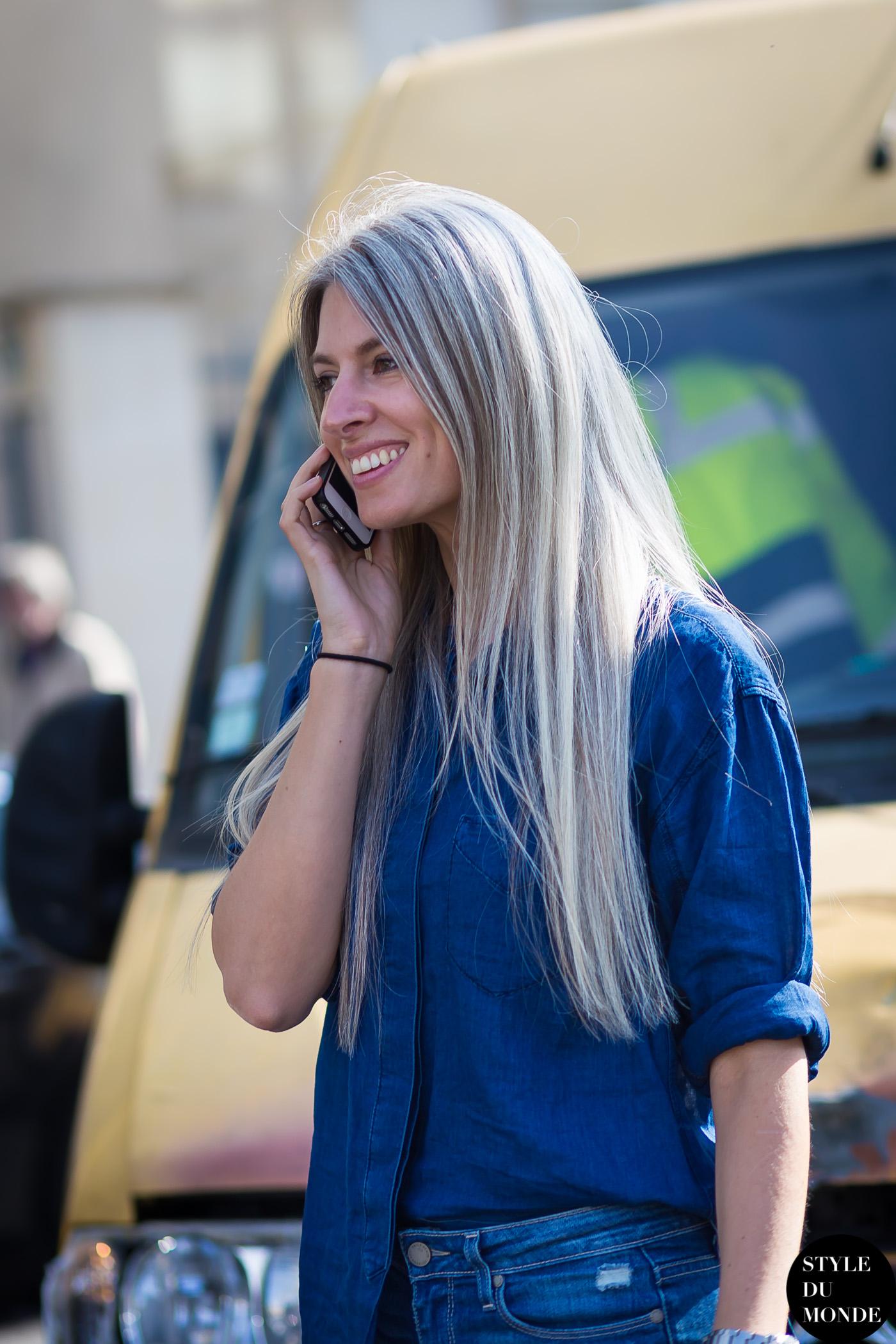 Paris Fashion Week Fw 2015 Street Style Sarah Harris