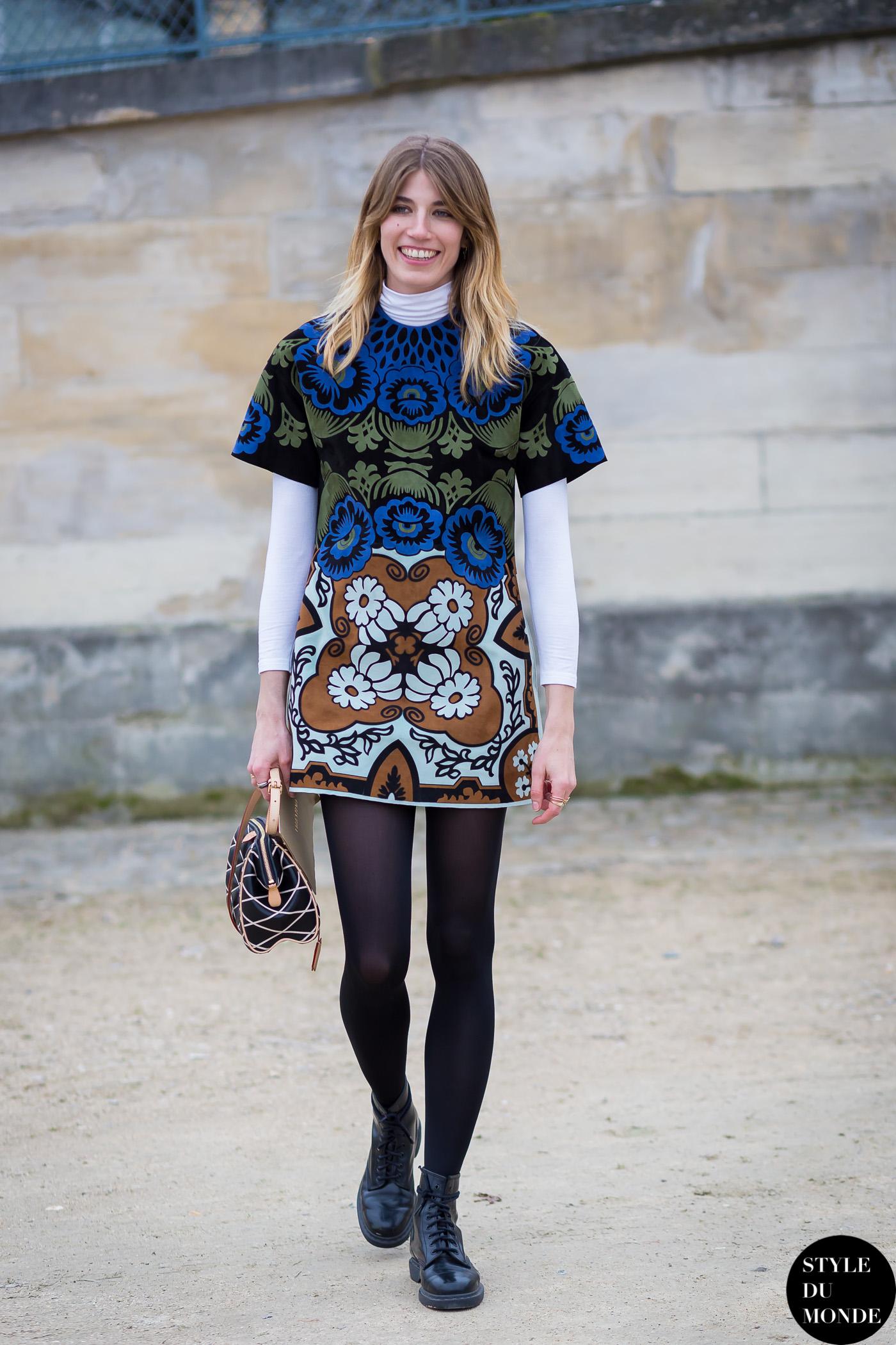 Paris Fashion Week Fw 2015 Street Style Veronika