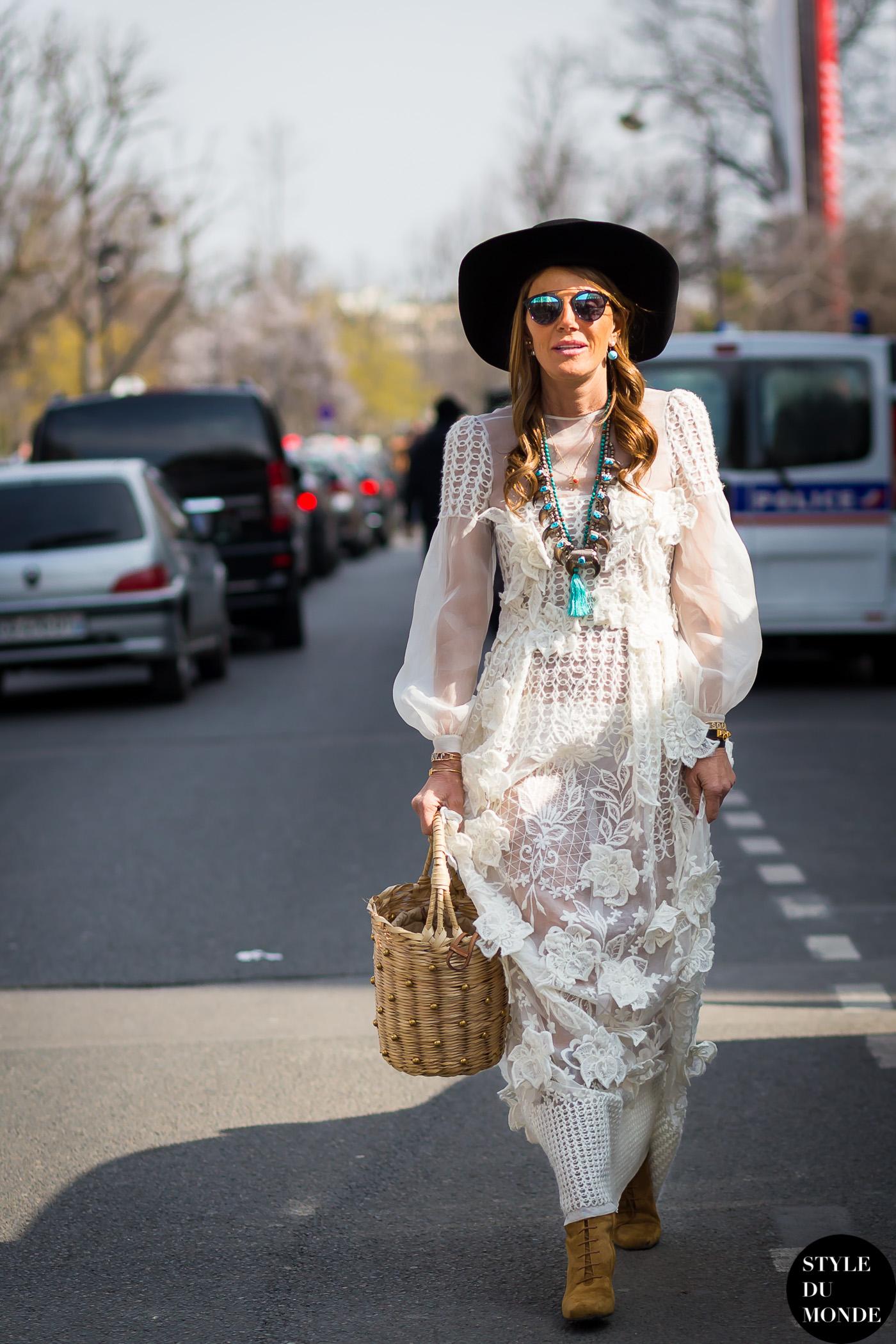 Paris Fashion Week Fw 2015 Street Style Anna Dello Russo Style Du Monde Street Style Street