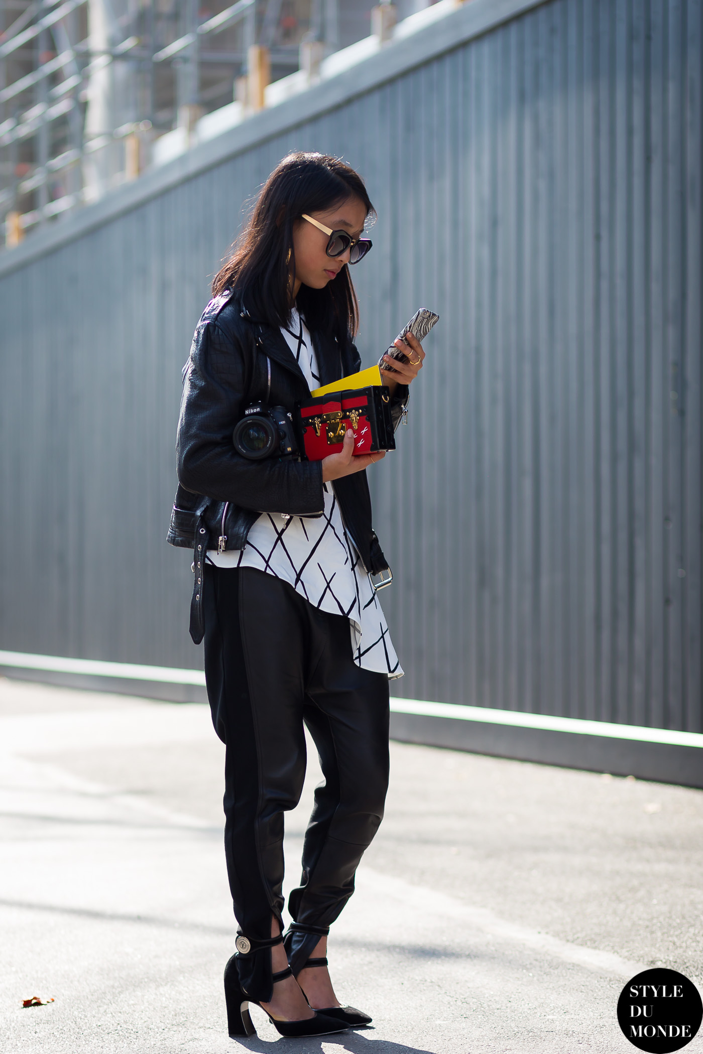Paris Fashion Week Fw 2015 Street Style Margaret Zhang Style Du Monde Street Style Street