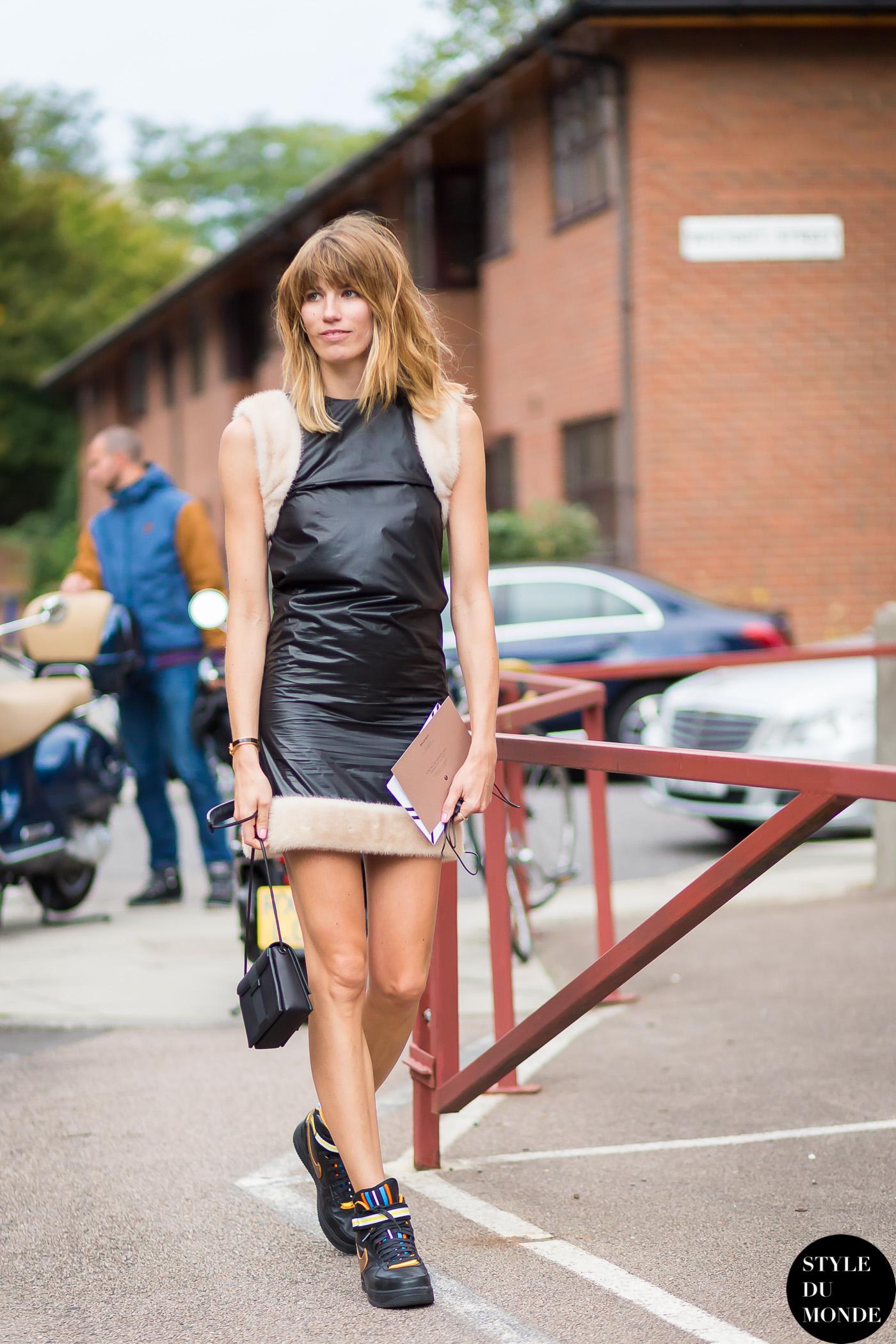 big sale 07e27 79439 London FW SS15 Street Style  Veronika Heilbrunner - STYLE DU MONDE   Street  Style Street Fashion Photos