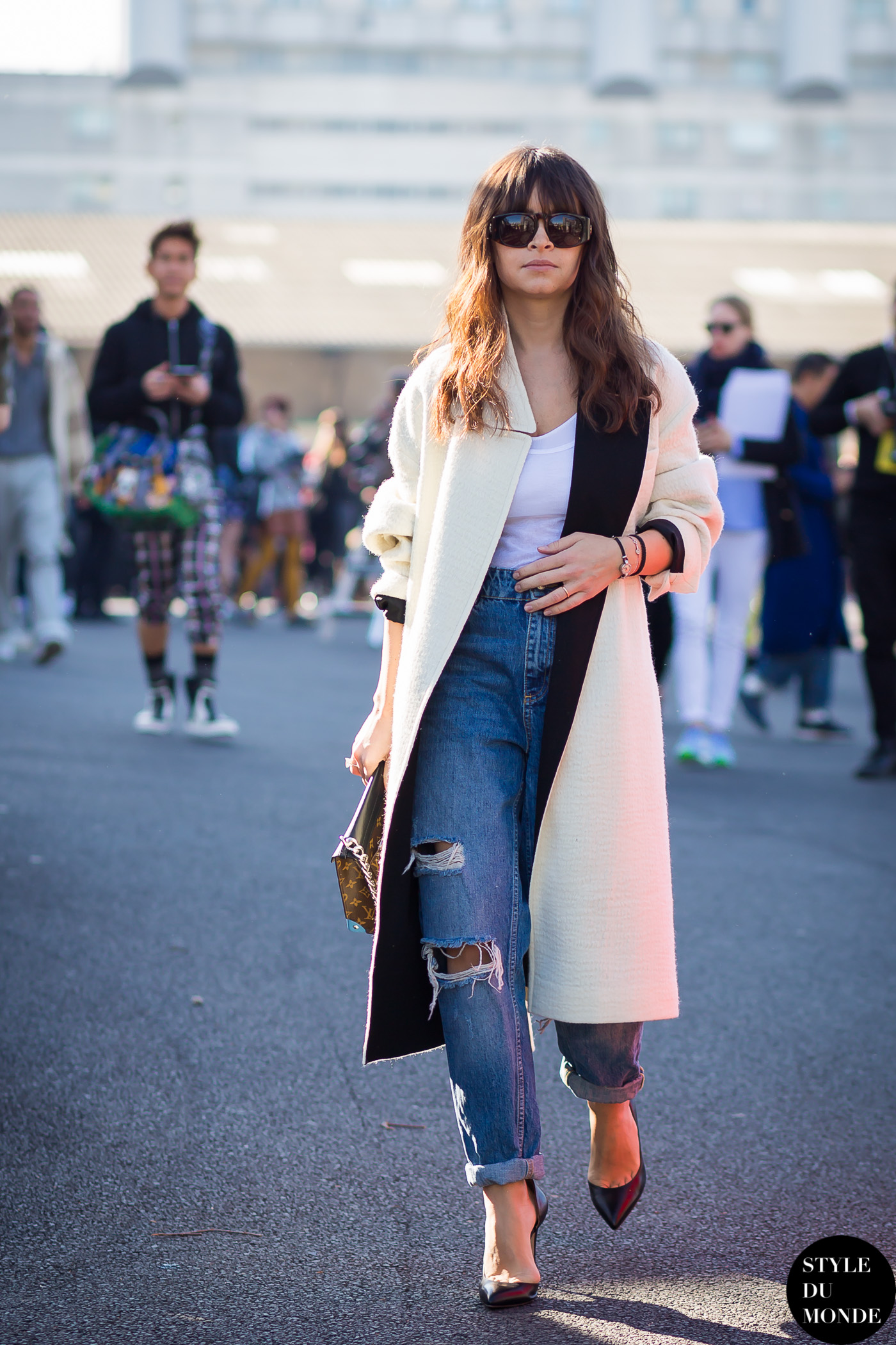 Paris Fashion Week Fw 2015 Street Style Miroslava Duma Style Du Monde Street Style Street