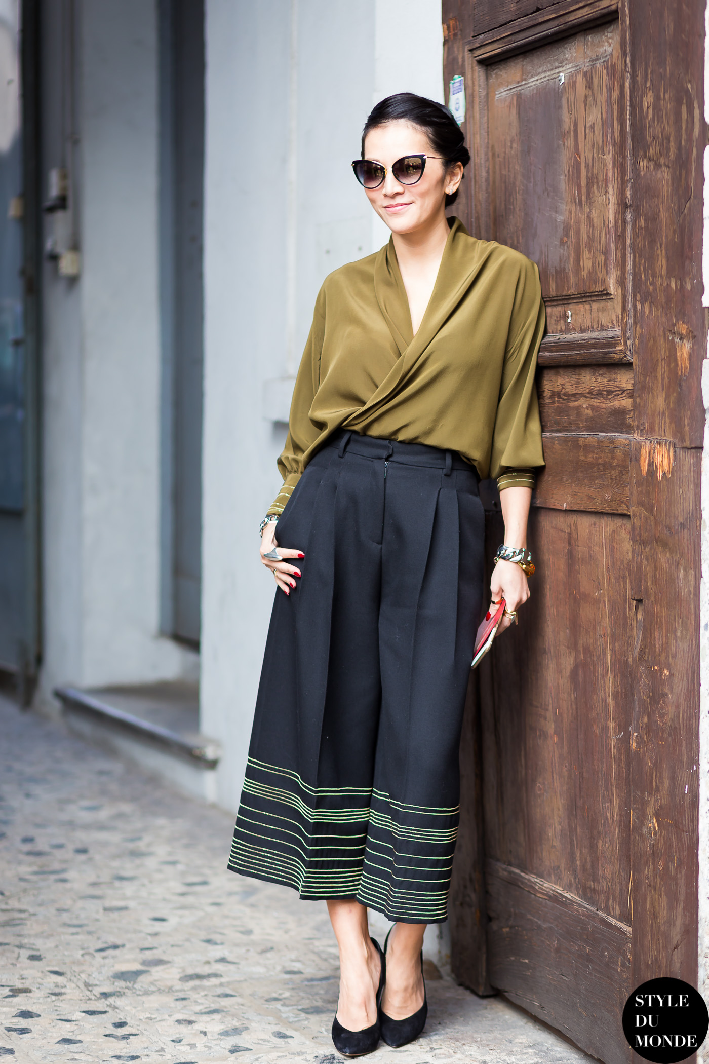 Milan Fashion Week Fw 2015 Street Style Tina Leung Style Du Monde Street Style Street