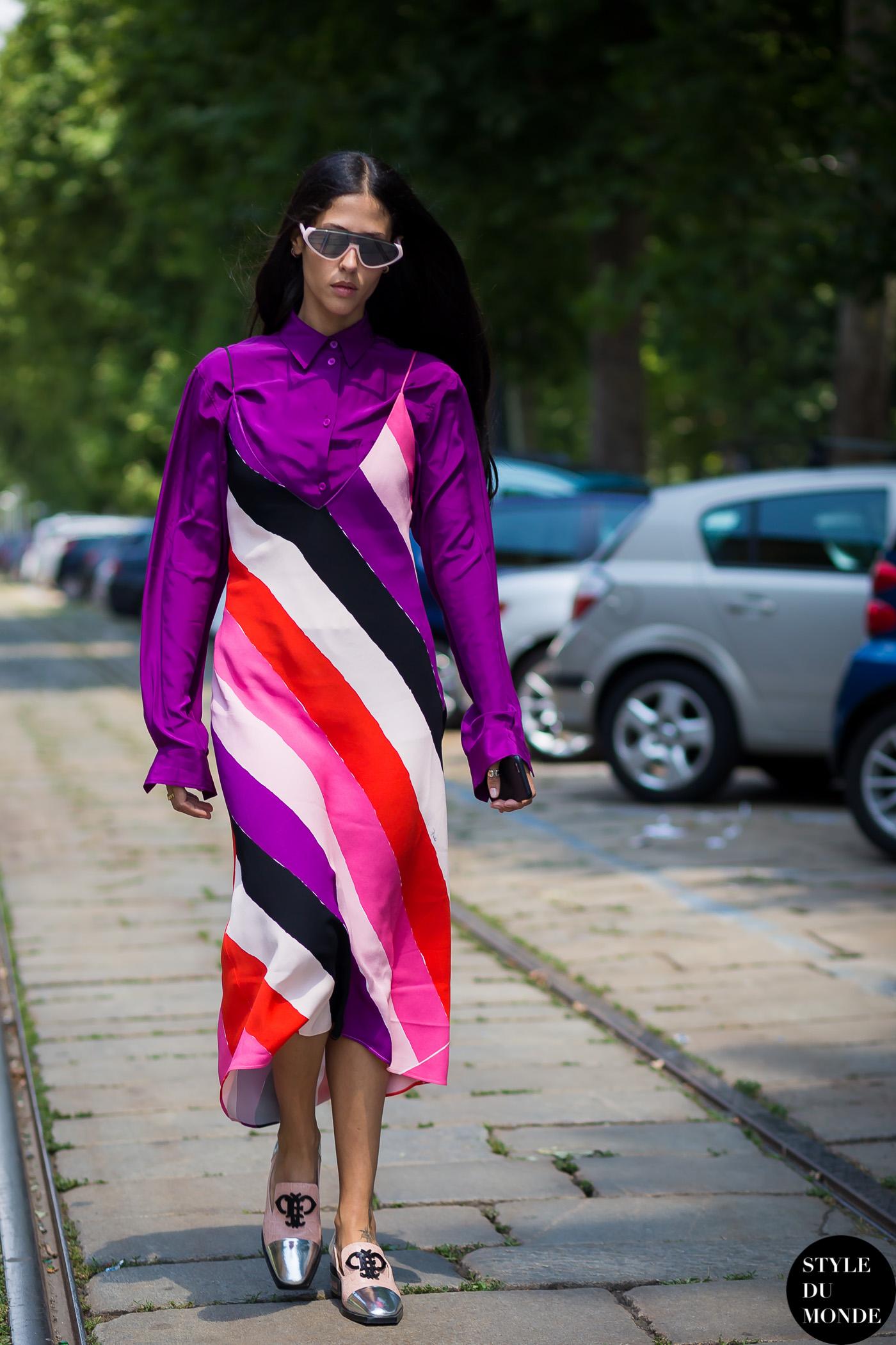 Emilio Pucci Striped Dress Style Du