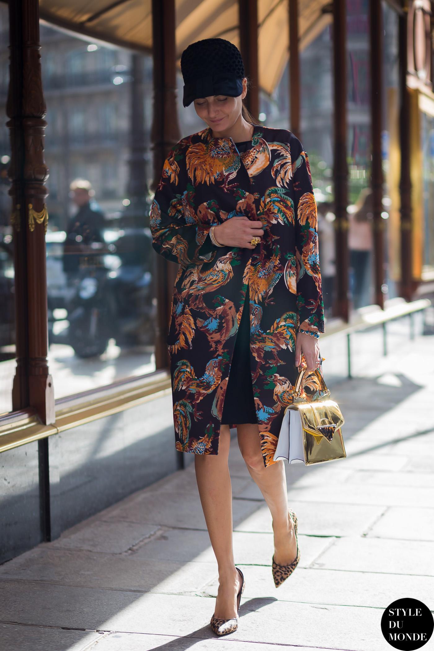 Paris Fashion Week Fw 2015 Street Style Giovanna