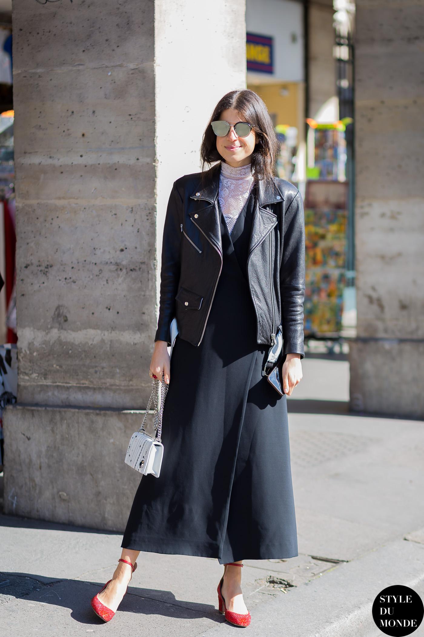 Paris Fashion Week Fw 2015 Street Style Leandra Medine