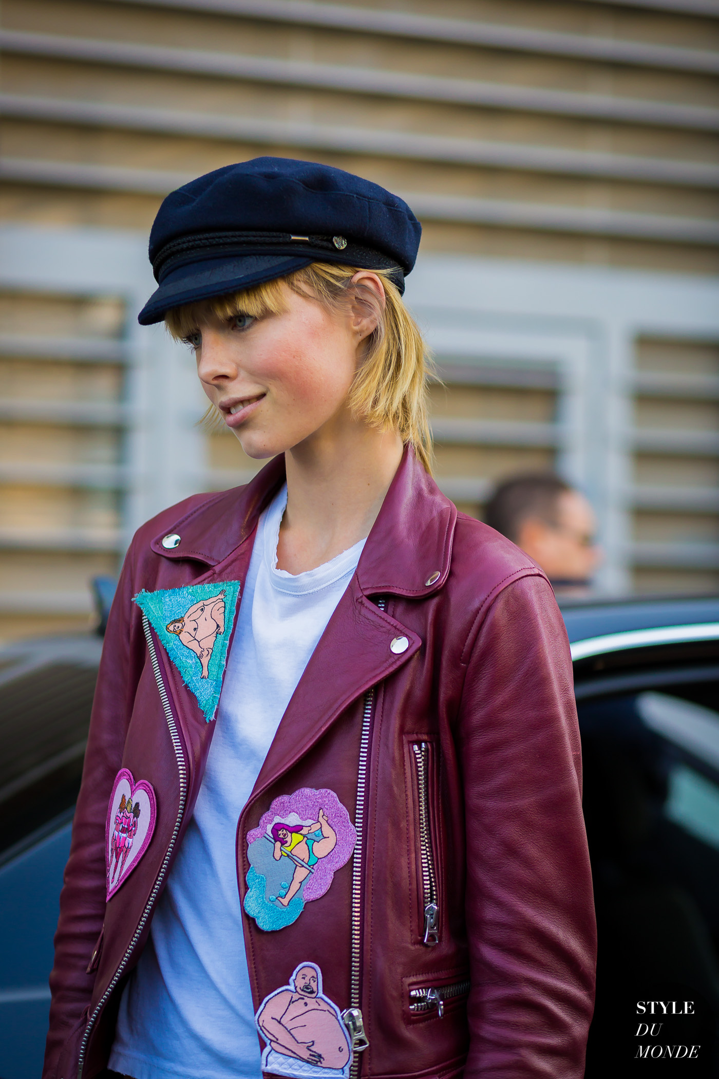 cbeeabd9a6b0 Edie Campbell Street Style Street Fashion Streetsnaps by STYLEDUMONDE  Street Style Fashion Photography