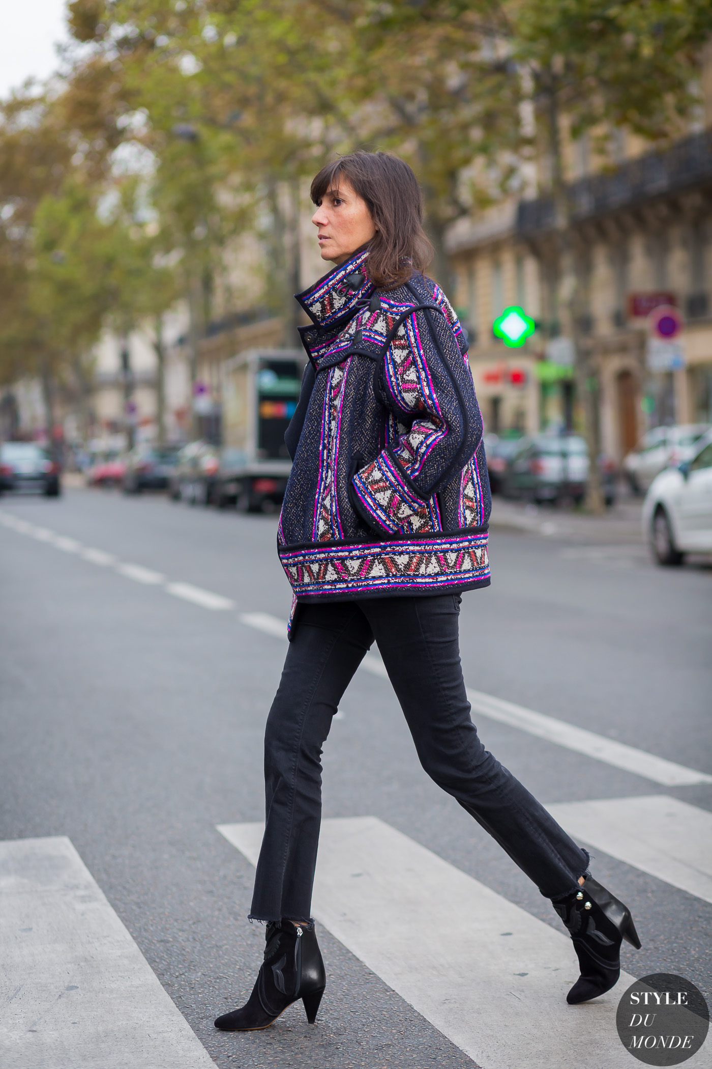 Paris Fashion Week Ss 2016 Street Style Emmanuelle Alt