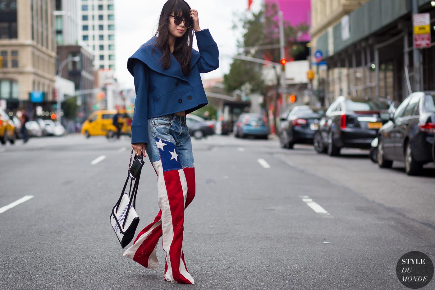 Flag American street style video
