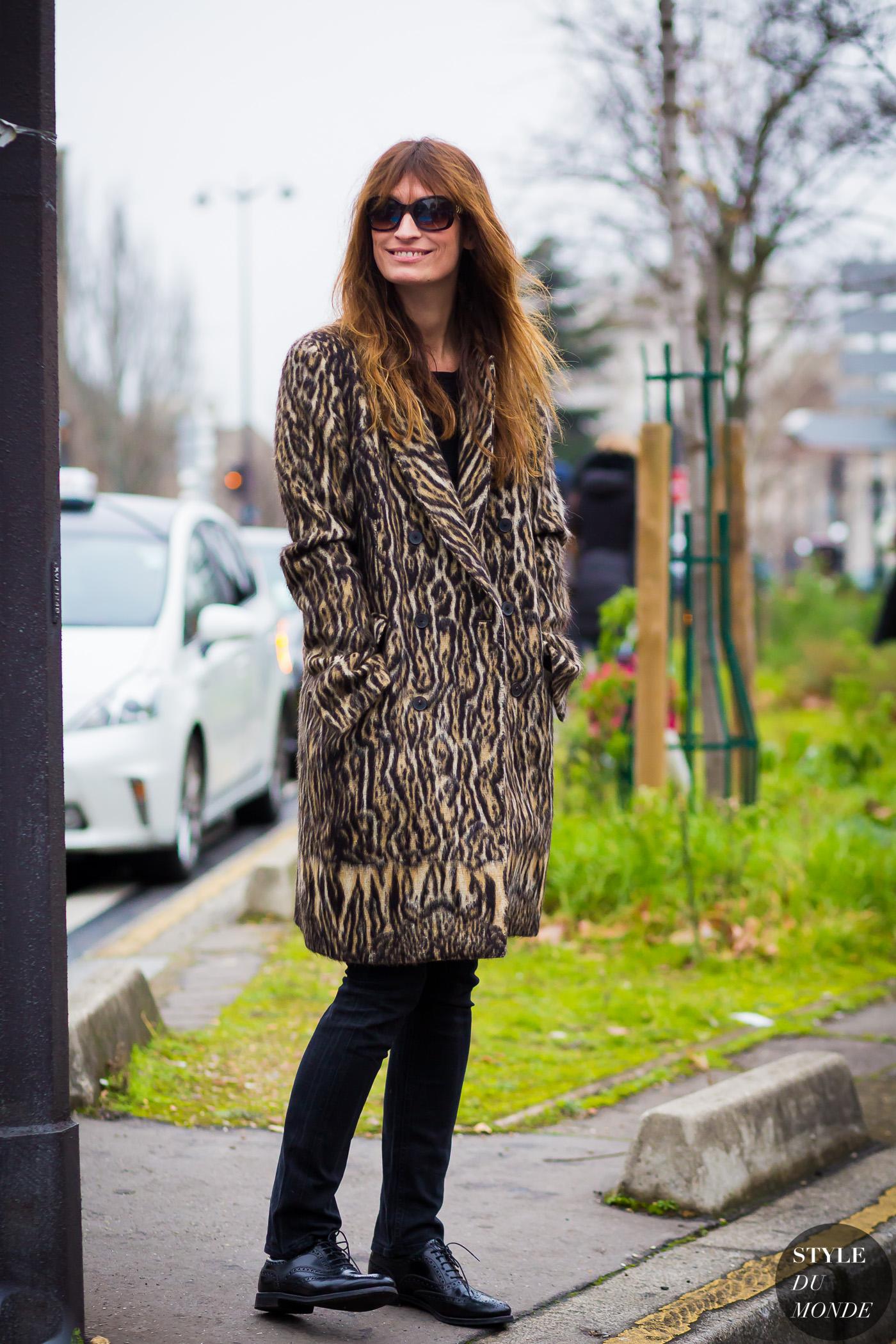 Paris Men 39 S Fashion Week Fw 2016 Street Style Caroline De Maigret Style Du Monde Street