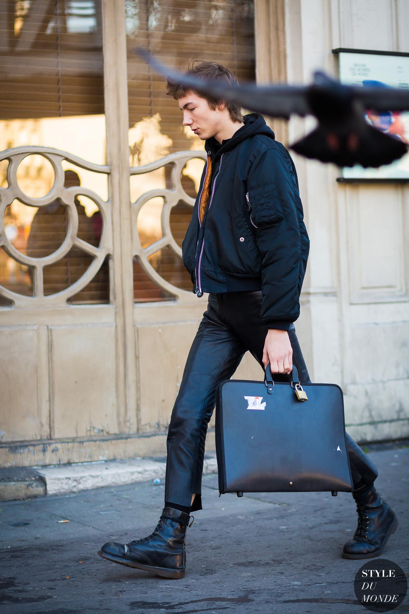 Paris Men S Fashion Week Fw 2016 Street Style Paul Hameline Style