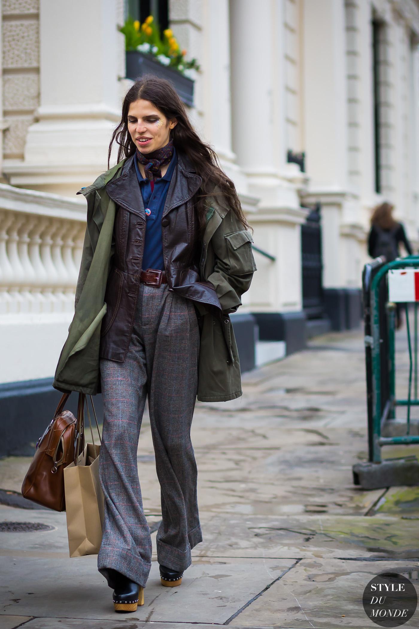 London Fashion Week Fw 2016 Street Style Hayett Mccarthy Style Du Monde Street Style Street