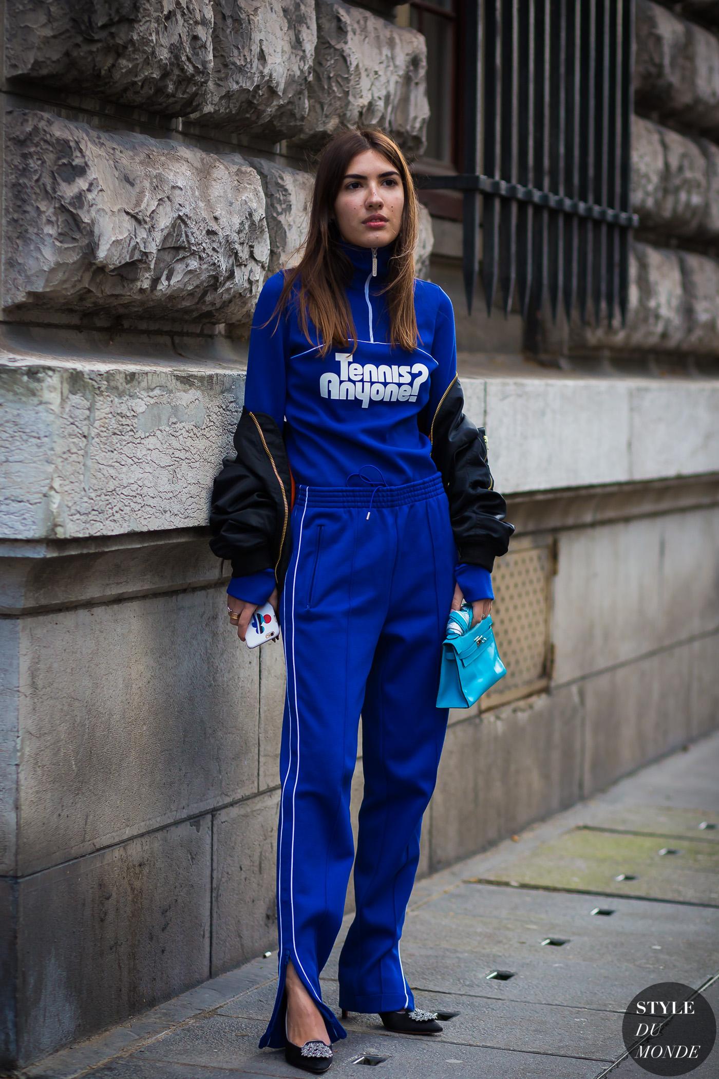 a490c7bc90741 Paris Fashion Week FW 2016 Street Style  Patricia Manfield
