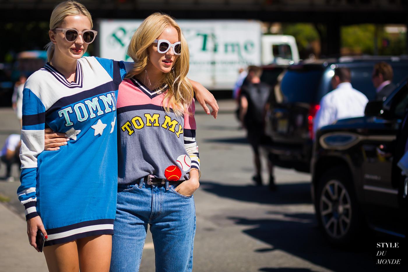 204172d6b95f Caroline Vreeland and Shea Marie Street Style Street Fashion Streetsnaps by STYLEDUMONDE  Street Style Fashion Photography