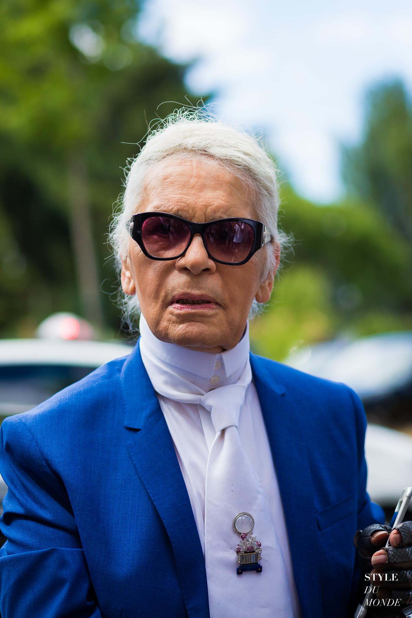 3adcd37db8 Karl Lagerfeld at Dior Homme - STYLE DU MONDE