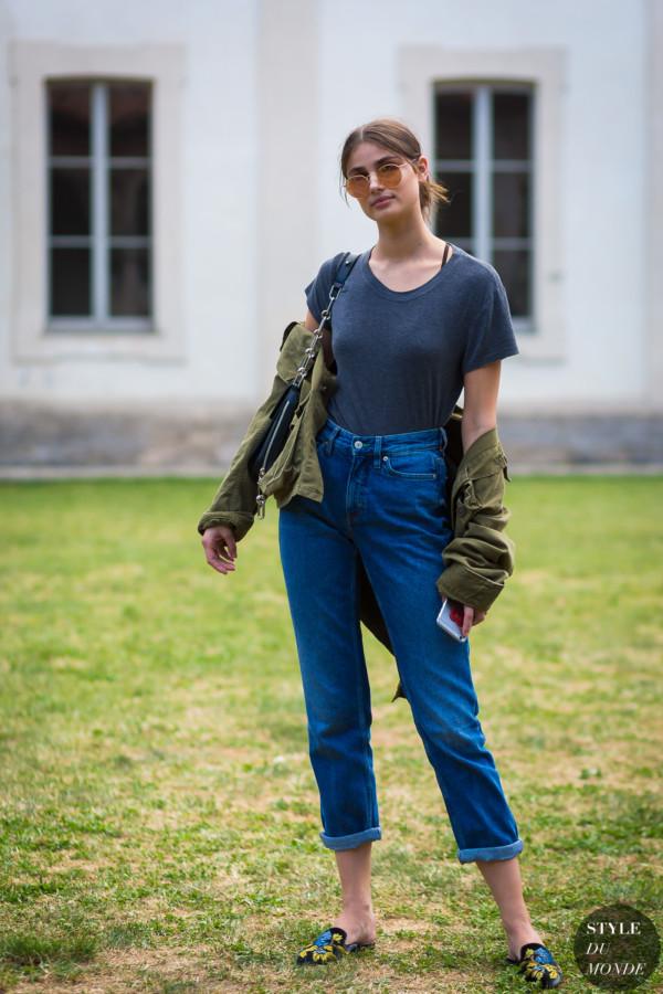 Taylor Hill Style Du Monde Street Style Street Fashion Photos