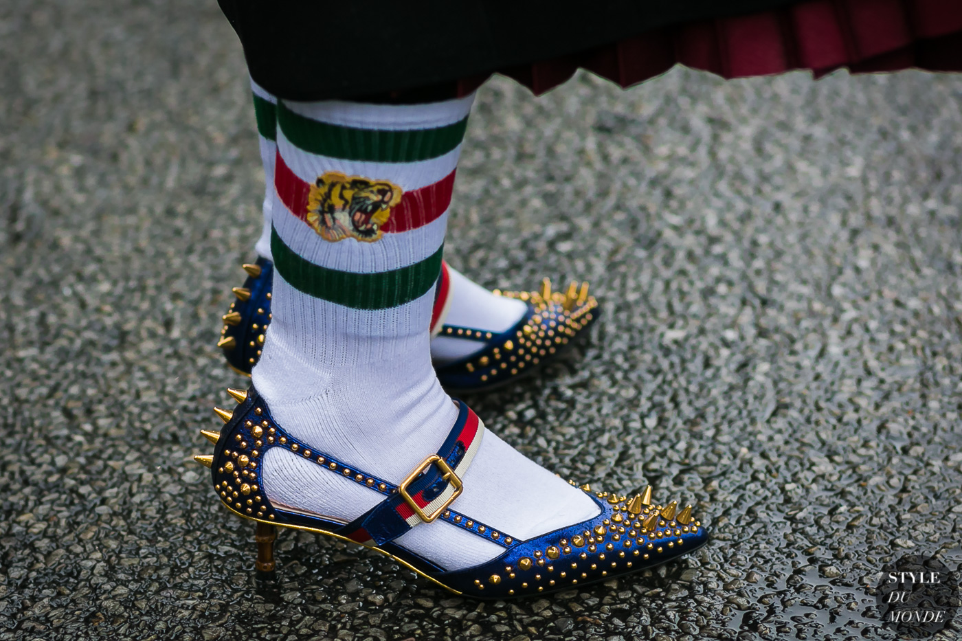 Gucci shoes and socks
