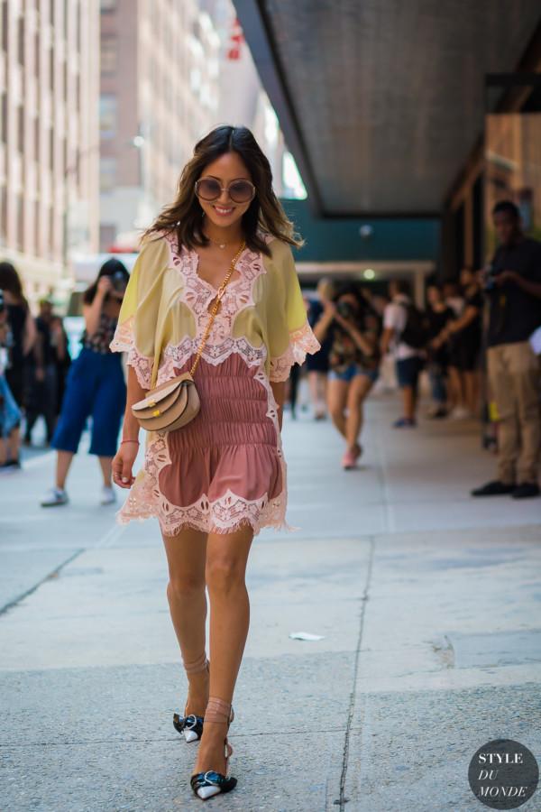 New York Fashion Week FW 2015 Street Style: Aimee Song