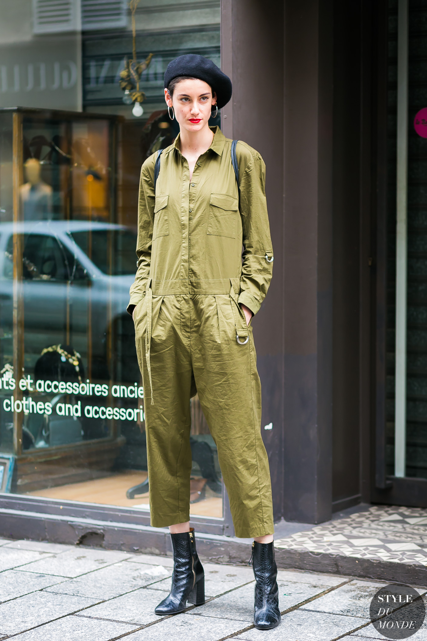1f438298f91cf Haute Couture Fall / Winter 2017/18 Street Style: Sarah Boursin. Before  A.F.Vandevorst by STYLEDUMONDE Street Style Fashion Photography0E2A3843