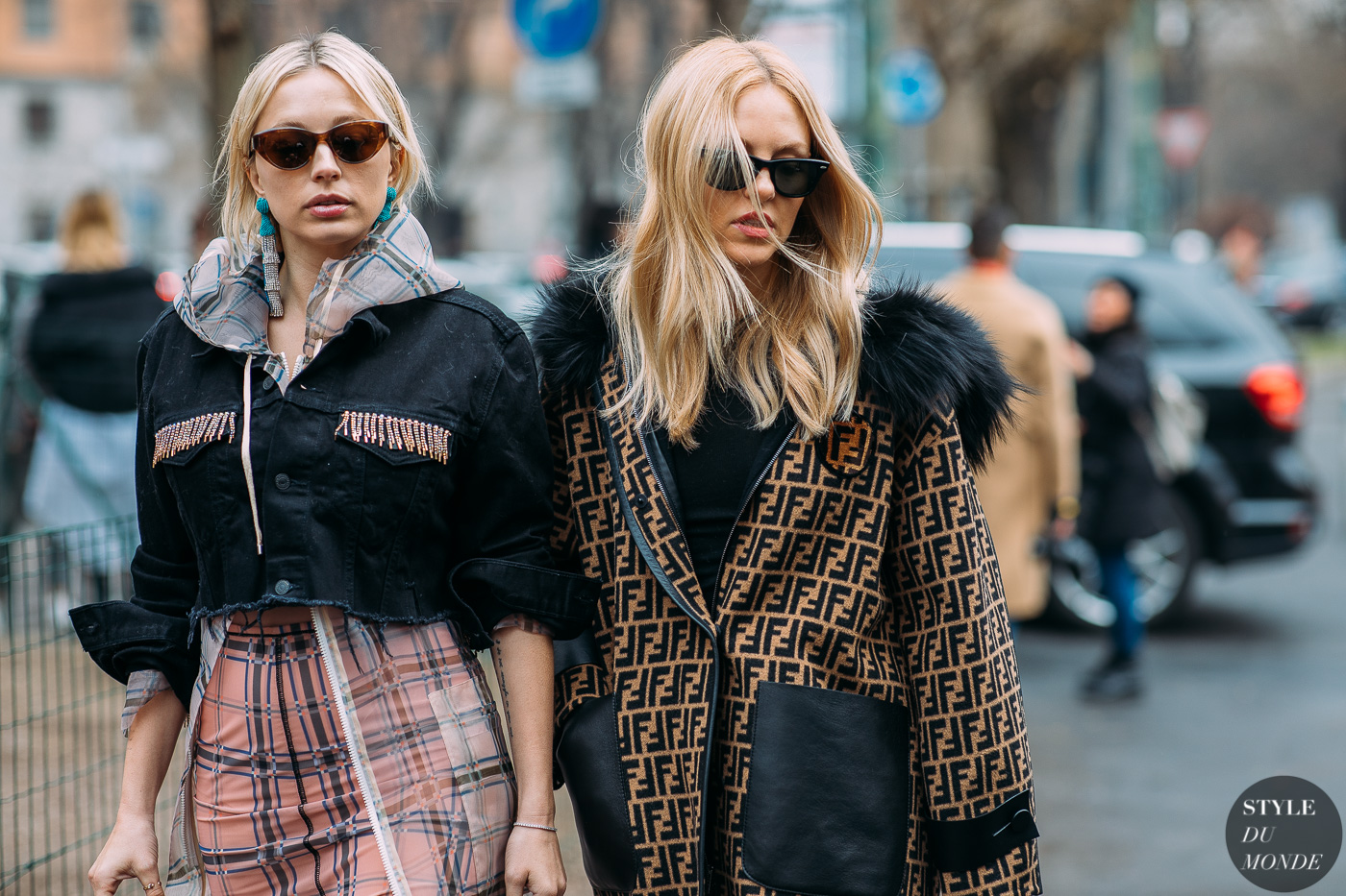 4eee3a152932 Caroline Vreeland and Shea Marie by STYLEDUMONDE Street Style Fashion  Photography FW18 20180222 48A3180