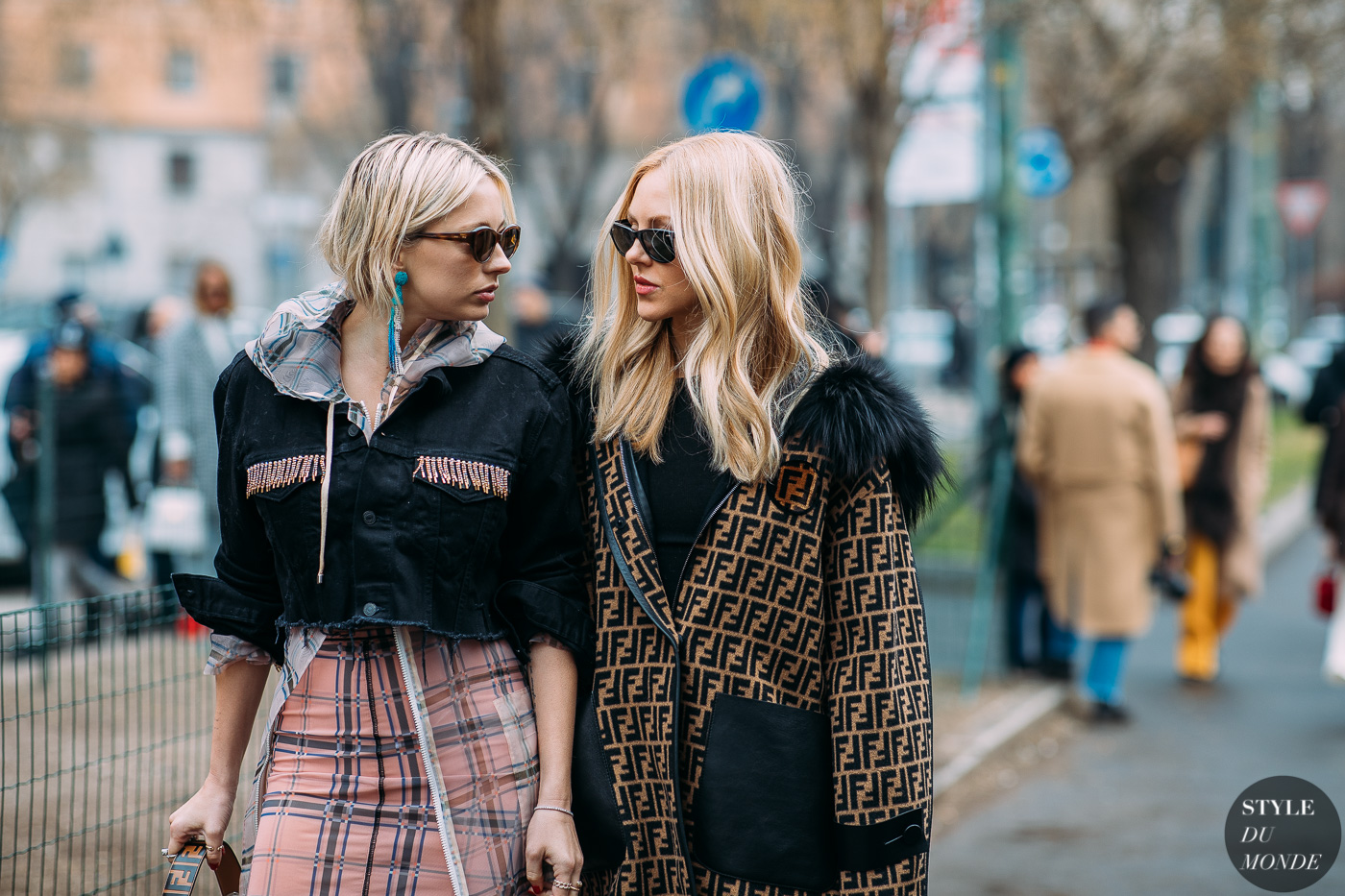 435d773a2662 Caroline Vreeland and Shea Marie by STYLEDUMONDE Street Style Fashion  Photography FW18 20180222 48A3211