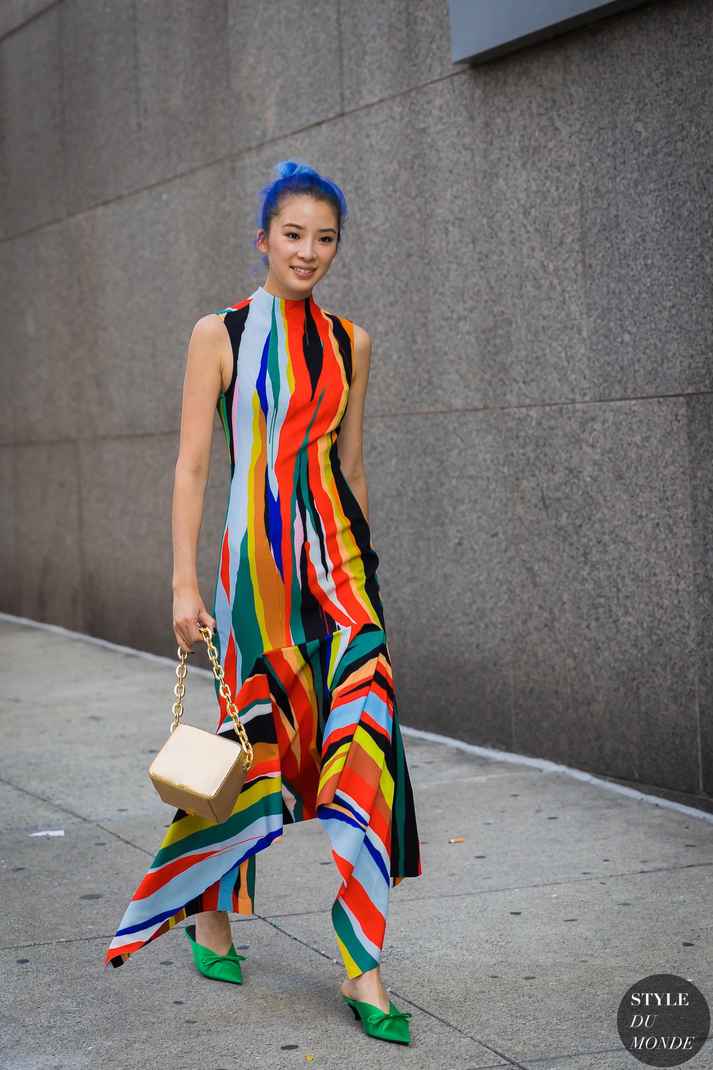 Image for New York SS 2018 Street Style: Irene Kim